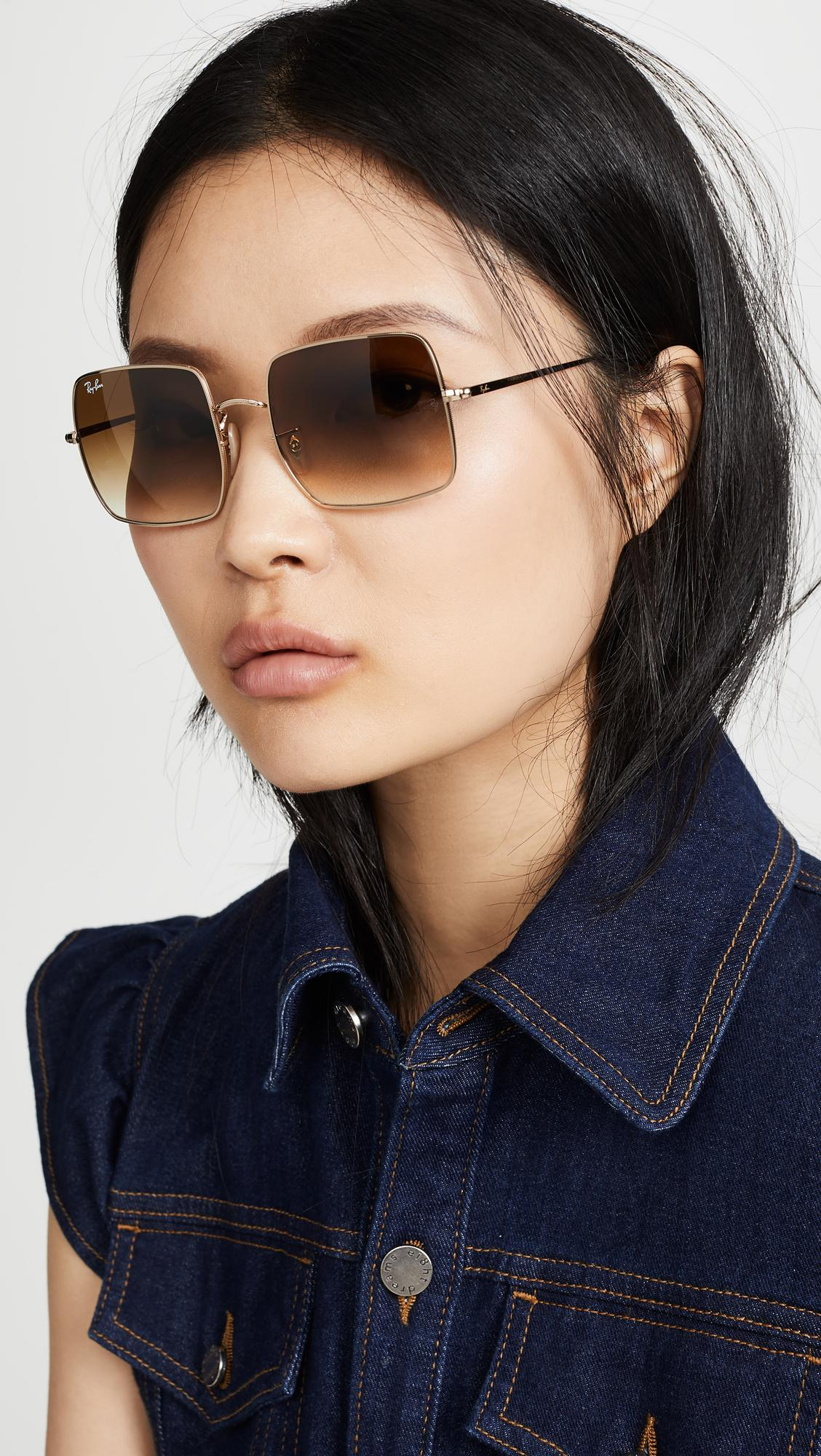 3ec3eb64a256e Ray-Ban Rb1971 Icons Oversized Square Sunglasses - Lyst
