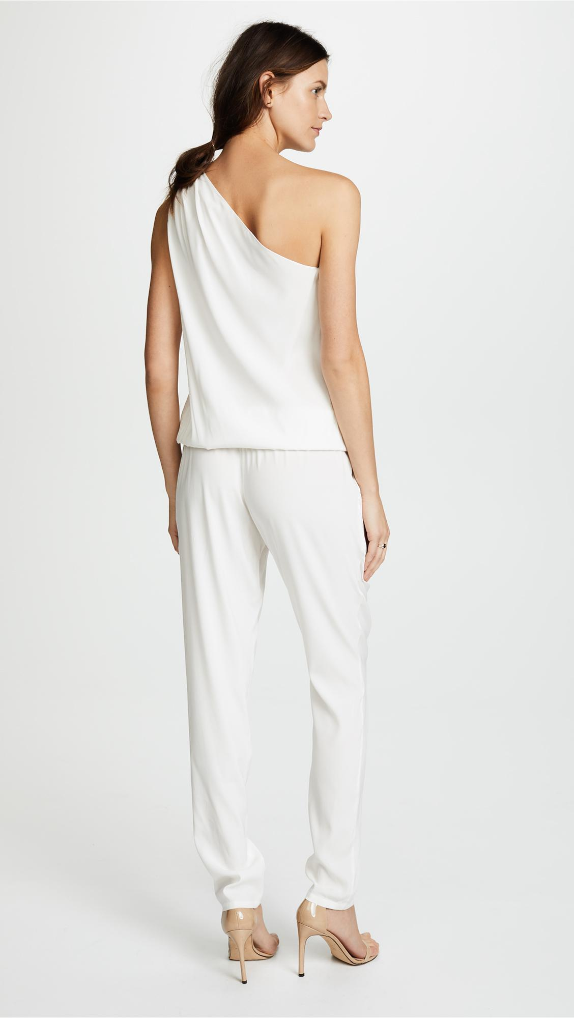 89df7bcc9947 Ramy Brook - White Lulu One Shoulder Jumpsuit - Lyst. View fullscreen