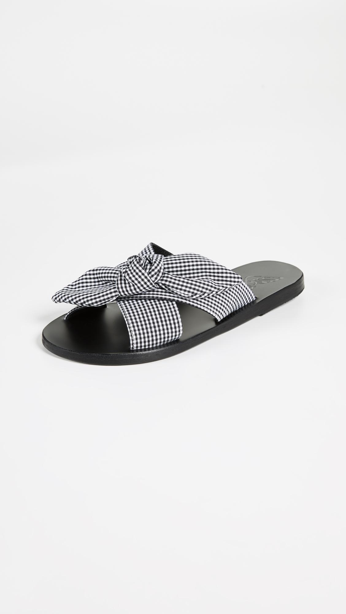 Ancient Greek Sandals Thais Bow XQo4gmk