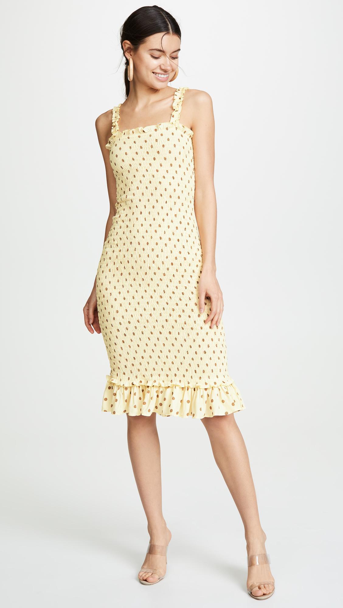 7d216843f7 Faithfull The Brand. Women s Faithfull Nadine Midi Dress
