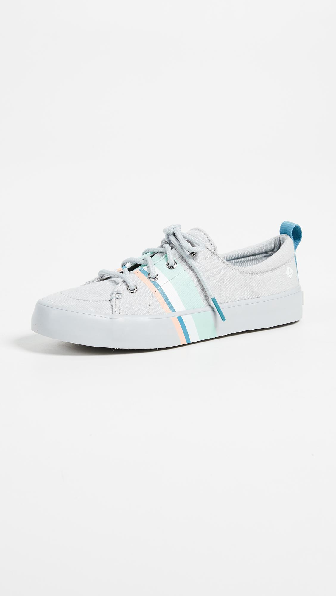 Crest Vibe Indigo Stripe Canvas Slip On Sneakers XNz6n1vXt