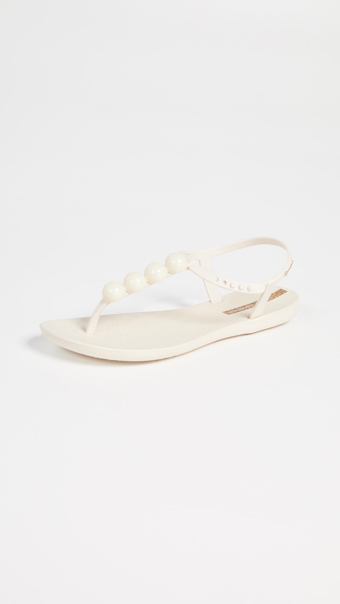 b1370313440c Ipanema Pearl T-strap Sandals in Natural - Lyst