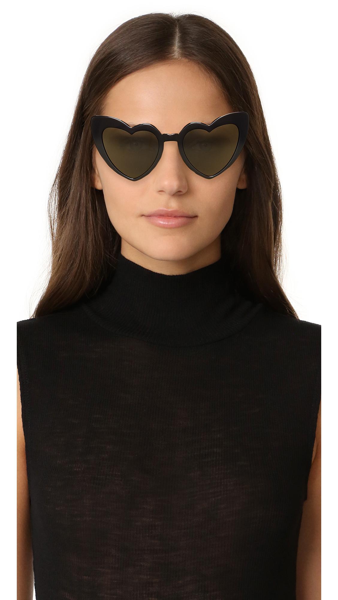 7f56edede05e ... Saint Laurent - Multicolor Sl 181 Lou Lou Hearts Sunglasses - Lyst.  Visit Shopbop. Tap to visit site