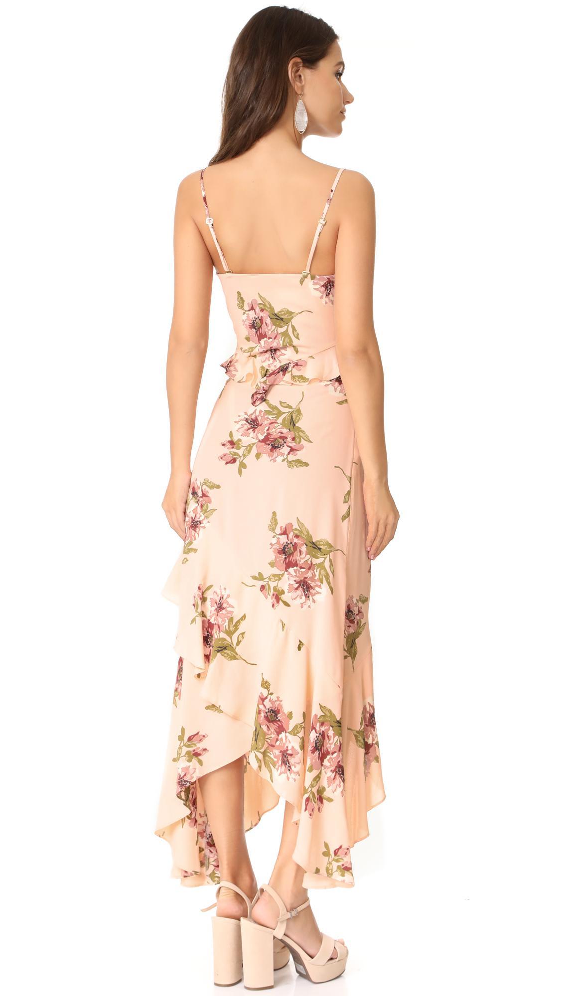 45ea705cb13 Lyst - Flynn Skye Michelle Maxi Dress in Pink