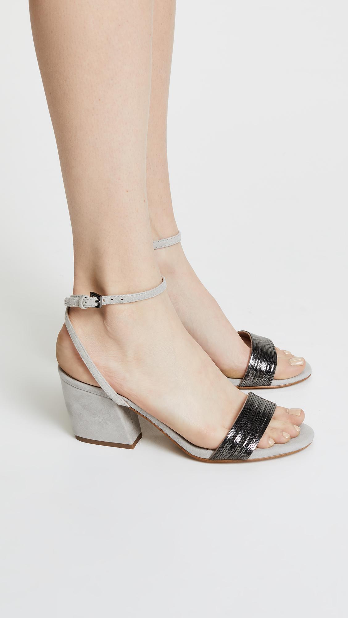 5a3097919830 Botkier Persi Block Heel Sandals - Lyst