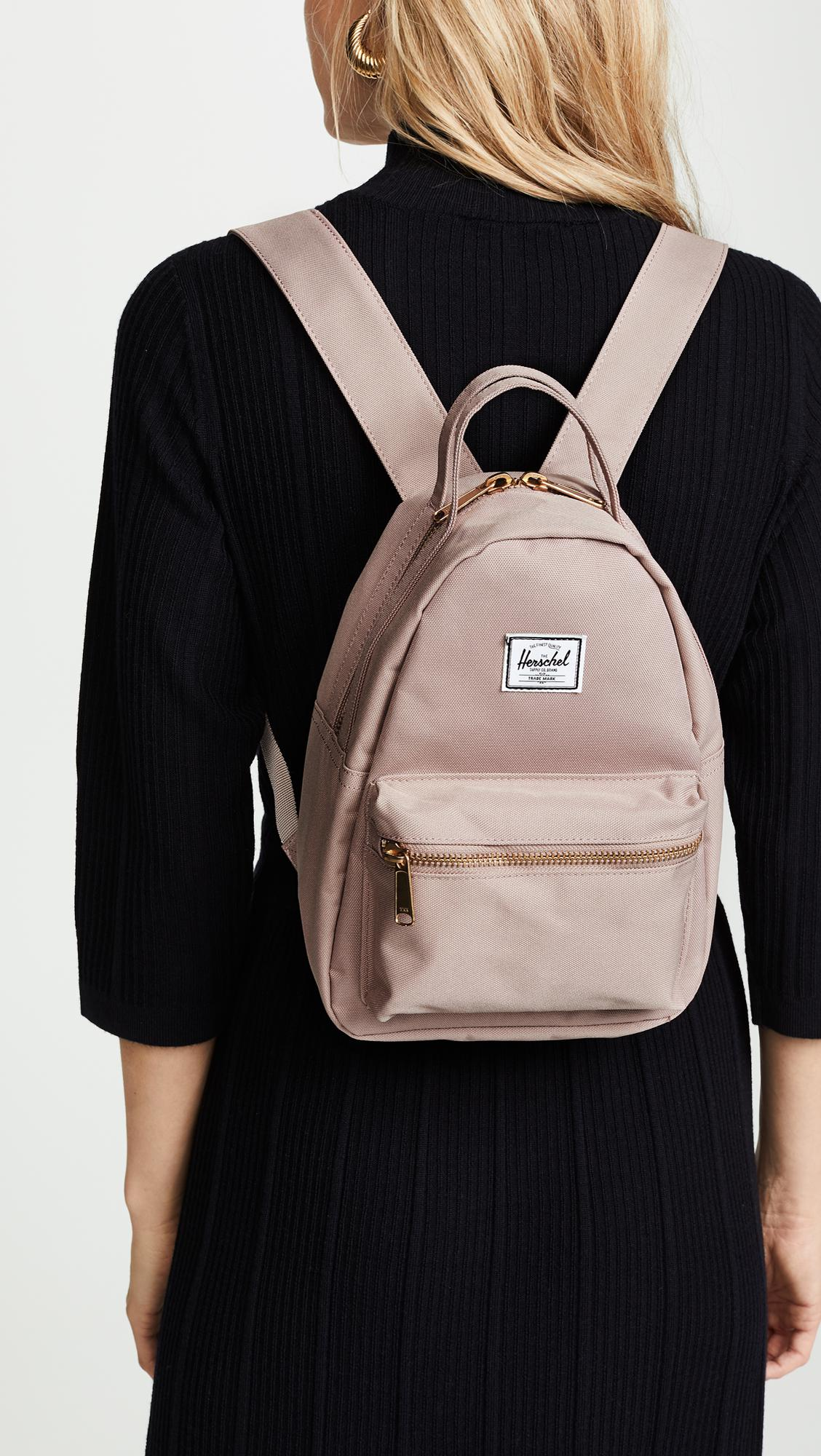 ae6736b58d5 Lyst - Herschel Supply Co. Nova Mini Backpack