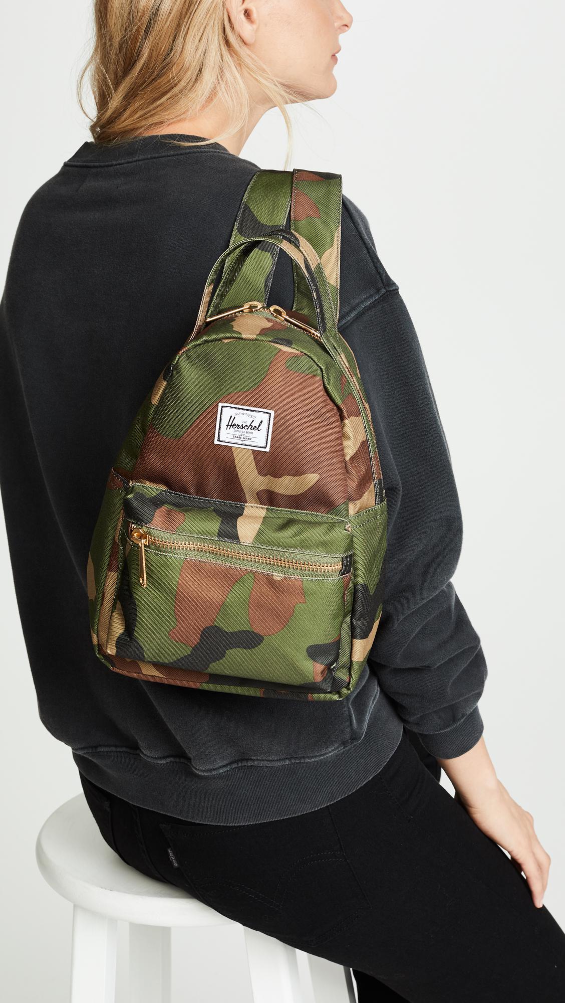 Lyst - Herschel Supply Co. Nova Mini Backpack in Green 7c879b199bf2e
