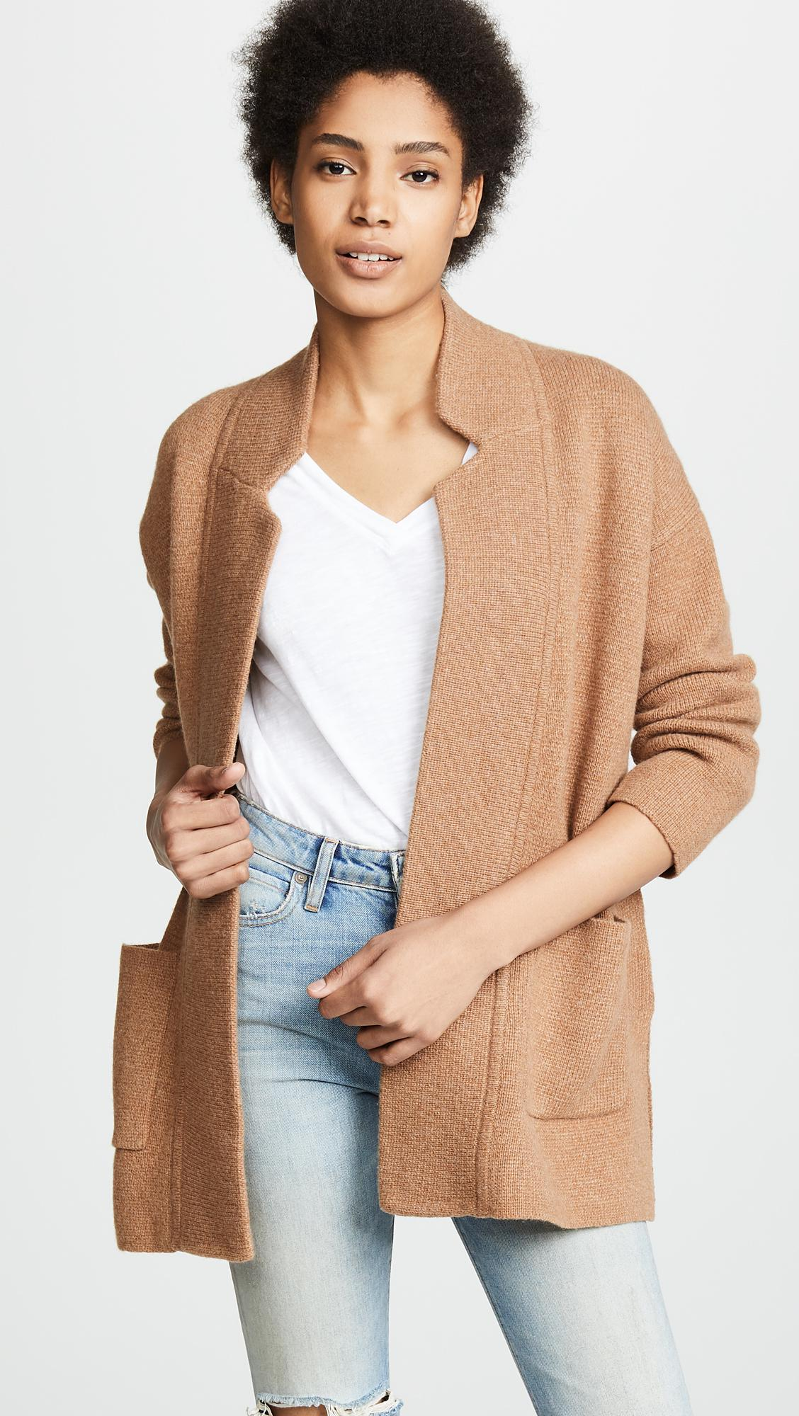 Lyst Madewell Hester Sweater Coat