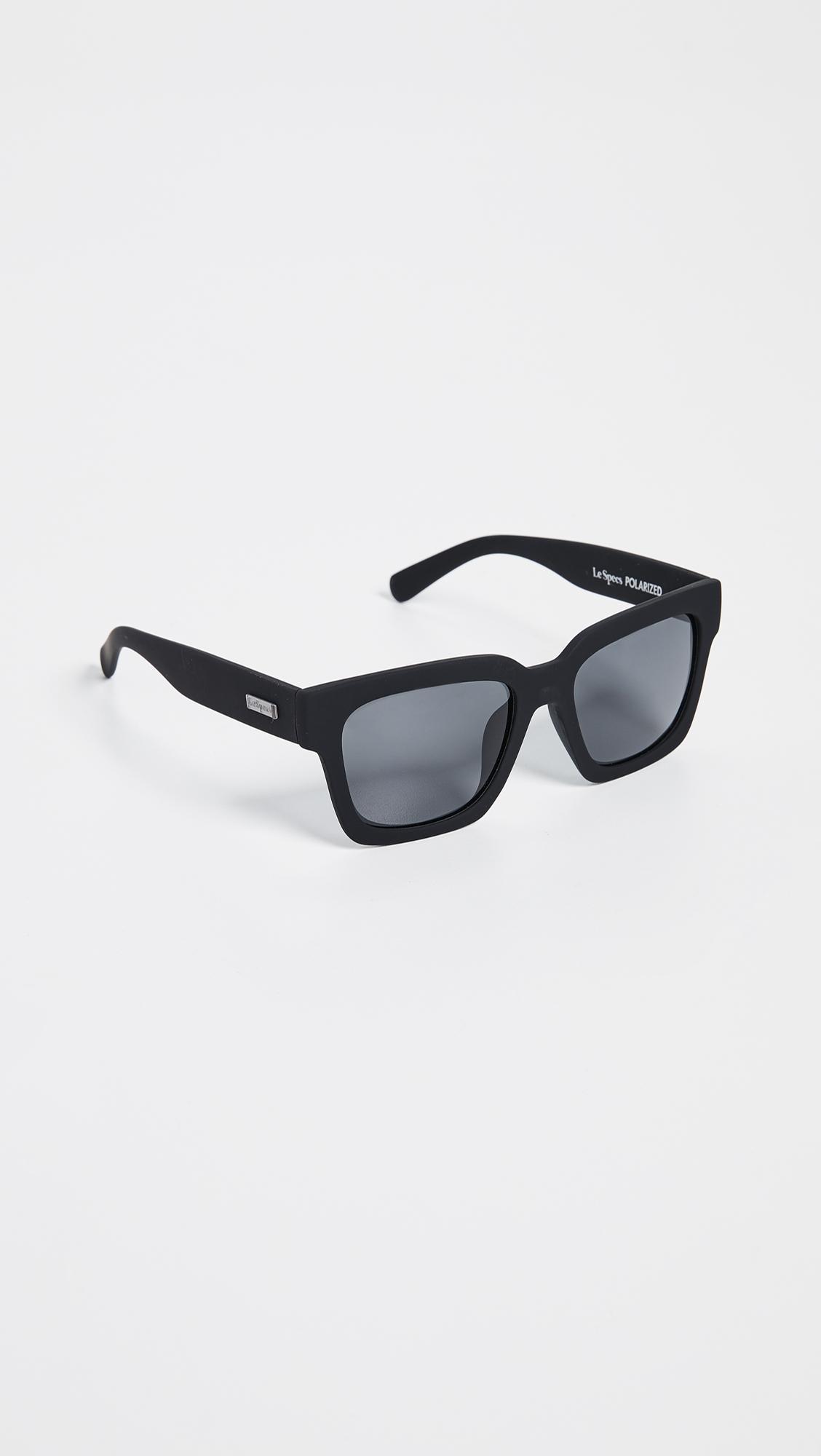 15f6f29d717 Le Specs - Black Weekend Riot Polarized Sunglasses - Lyst. View fullscreen