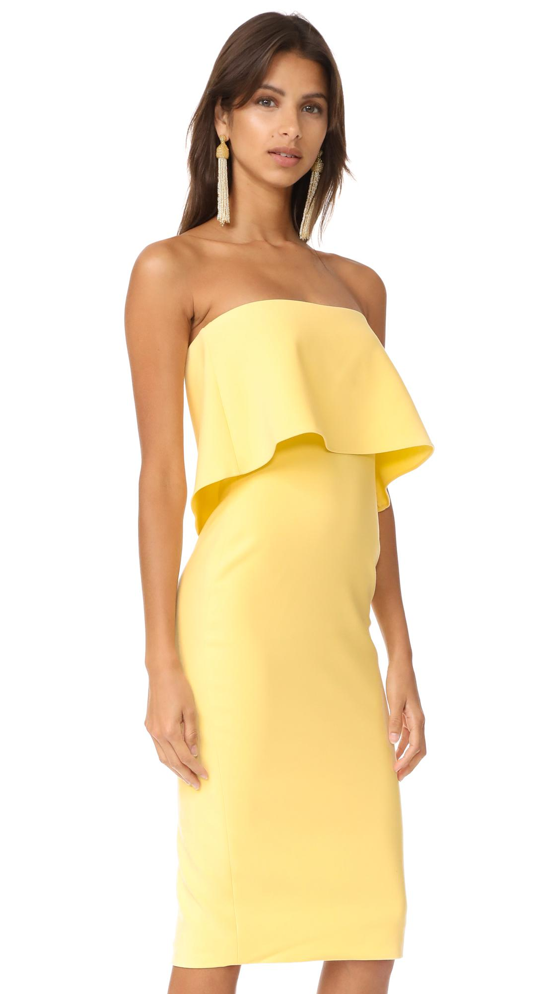 13ebb9f5e1b Likely Driggs Dress in Yellow - Lyst