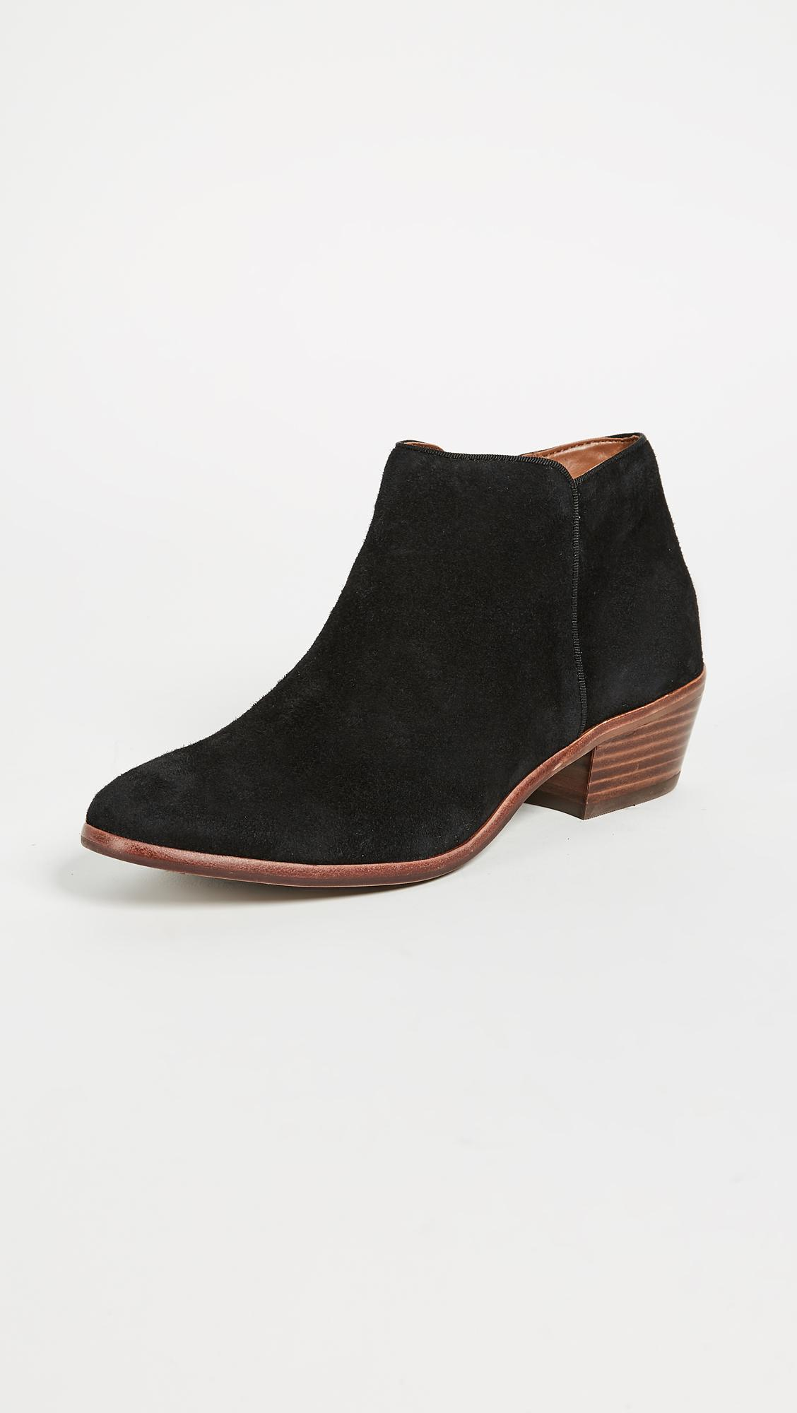 a68d89bf3461 Sam Edelman Petty Suede Booties - Save 83% - Lyst