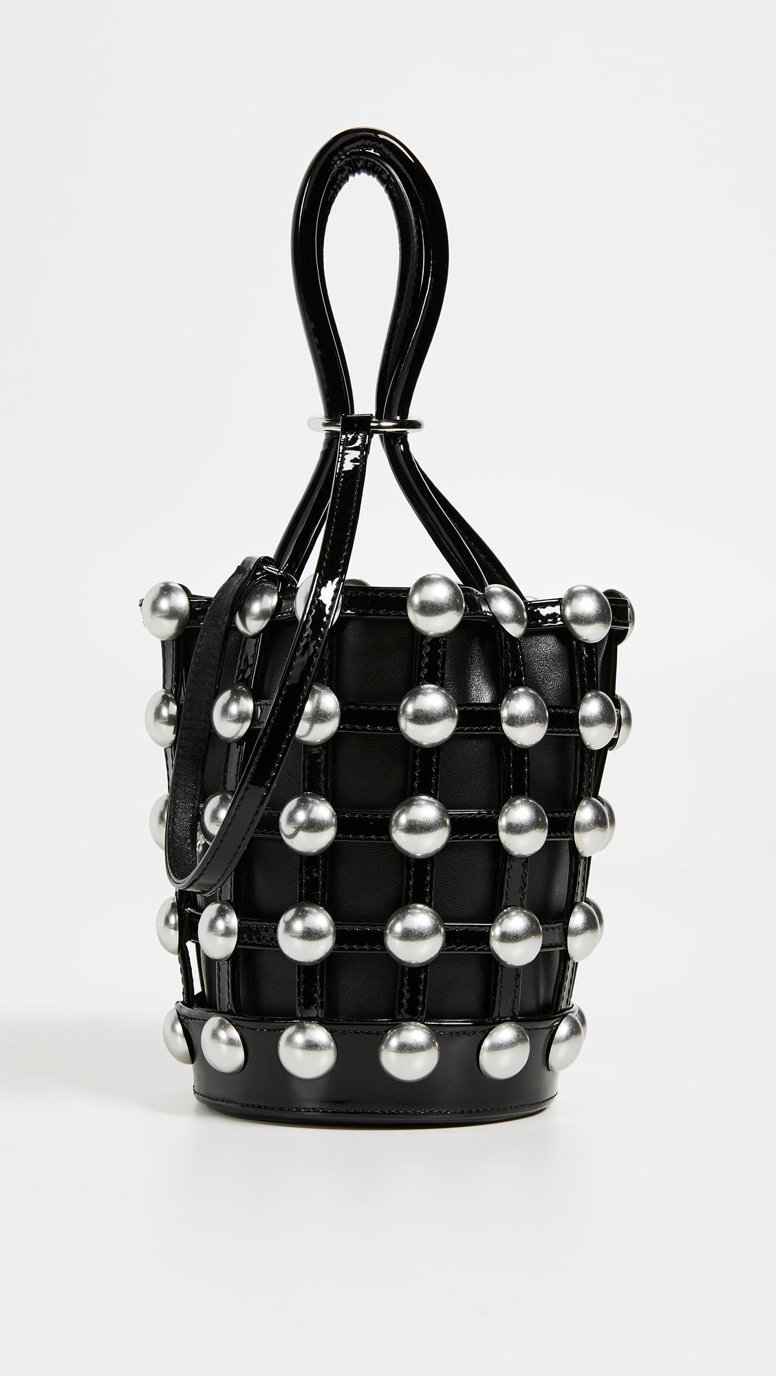 Alexander Wang Roxy Cage Mini Bucket in Black - Lyst 59727054d4