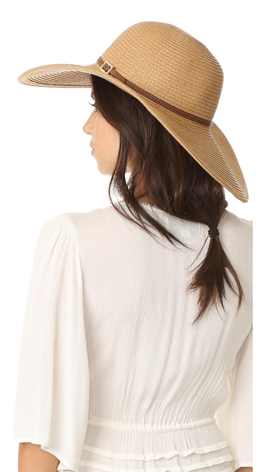 Melissa Odabash - Natural Jemima Hat - Lyst. View fullscreen 00914c79c49
