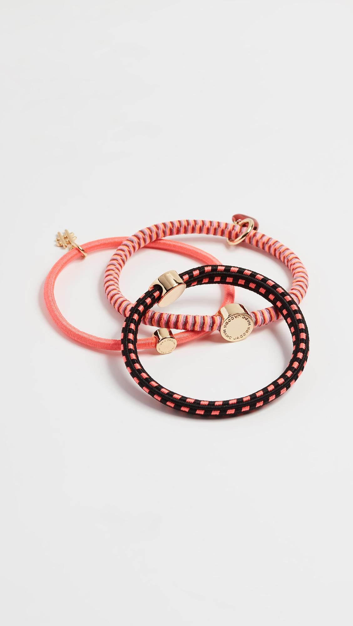 Marc Jacobs Sporty Pony Hair Tie Set 6eMd5c