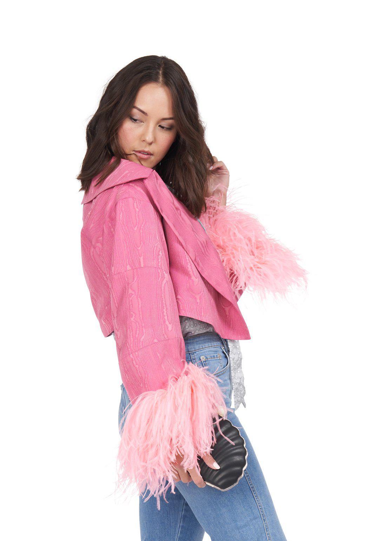 e5a55281028 Lyst - Rachel Comey Spiff Jacket in Pink