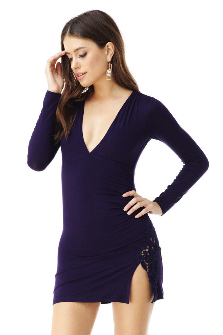 Idwal Dress in Black Sky Cheap Nicekicks Discount Amazing Price kAOztmqU