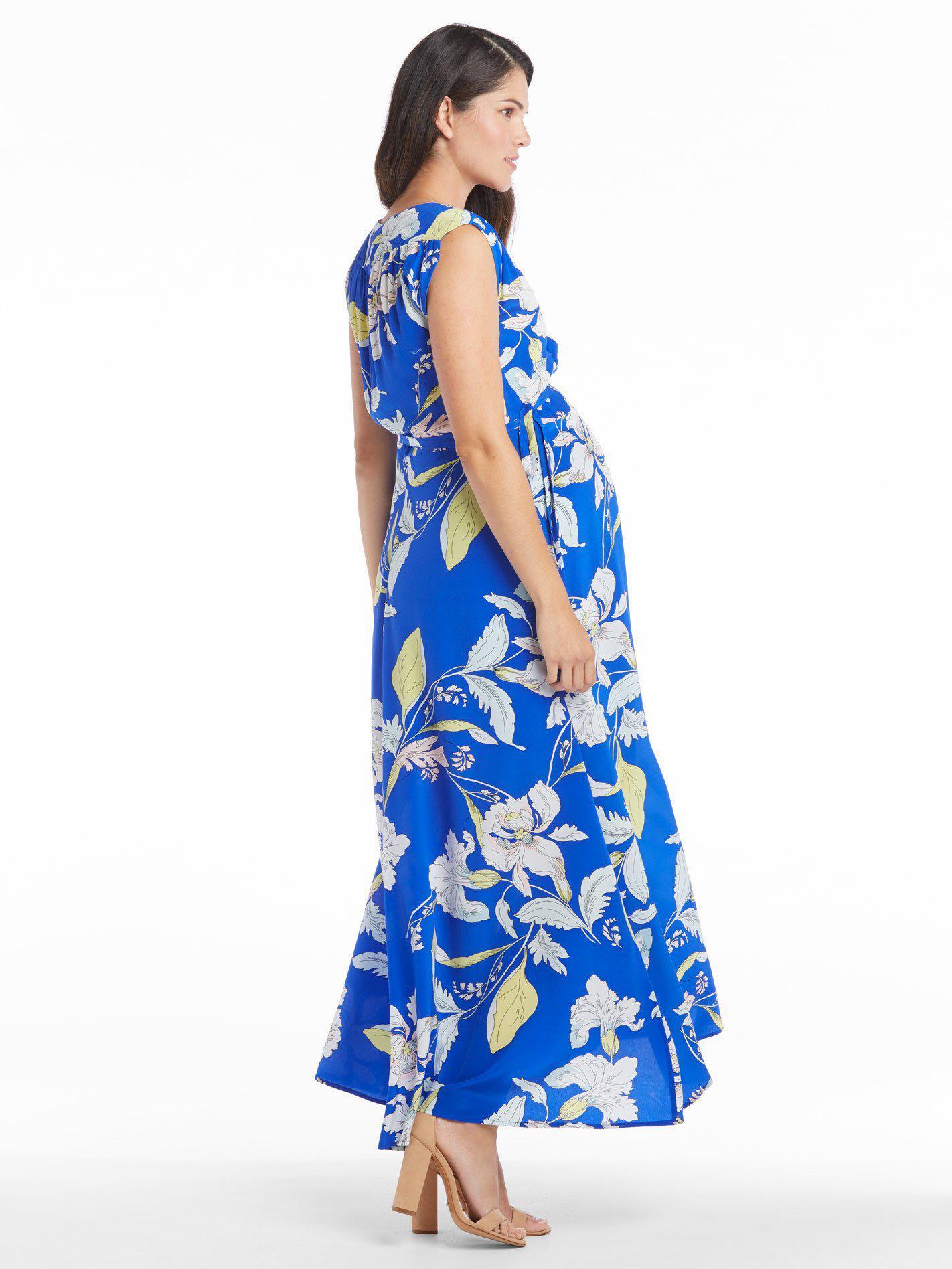 Lyst Yumi Kim Swept Away Maxi Dress In Blue