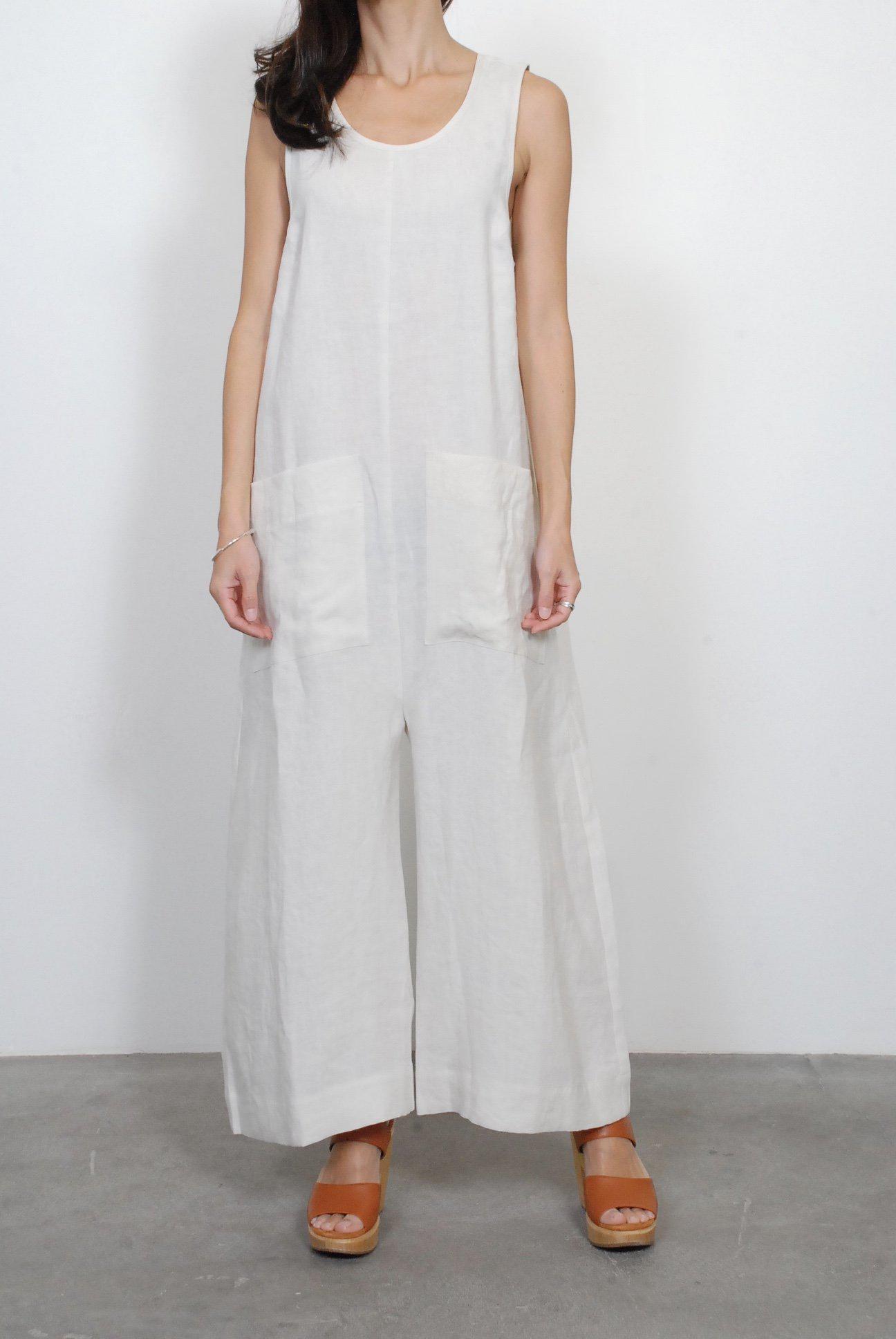f64d3e5c6c8 Lyst - Ilana Kohn Milo Jumpsuit in White