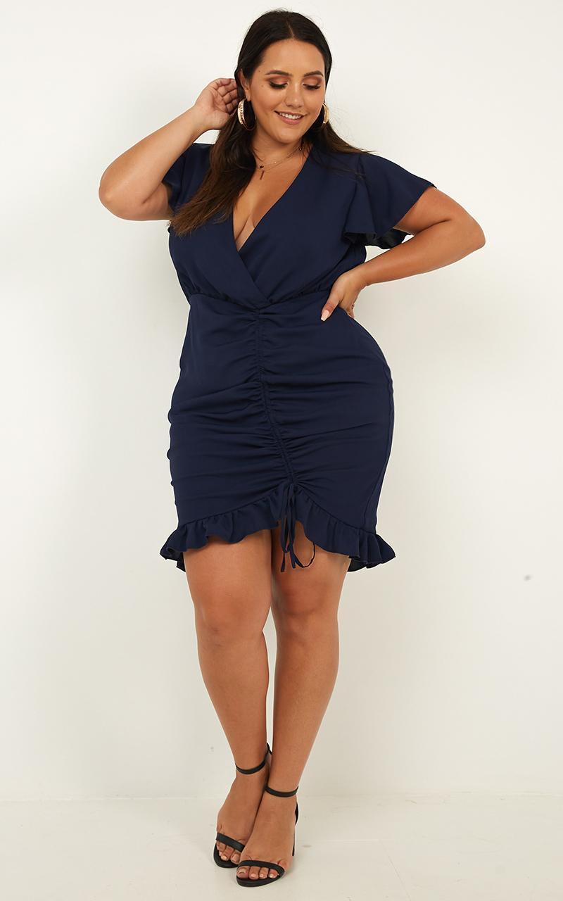 95f4bb20c74 Lyst - Showpo Newbury Street Dress in Blue