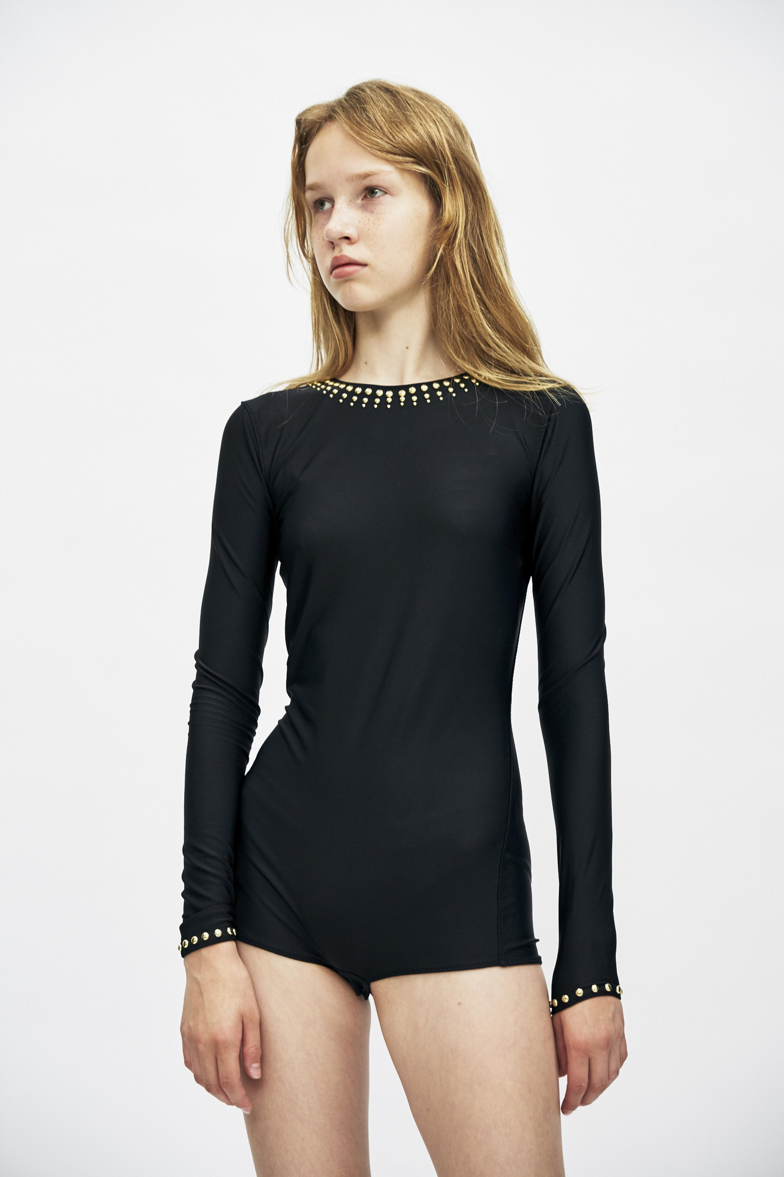 Maison Margiela long-sleeve fitted bodysuit Clearance Choice Discount Sast 2018 New For Sale Fake Cheap Price jjbJ1iNg