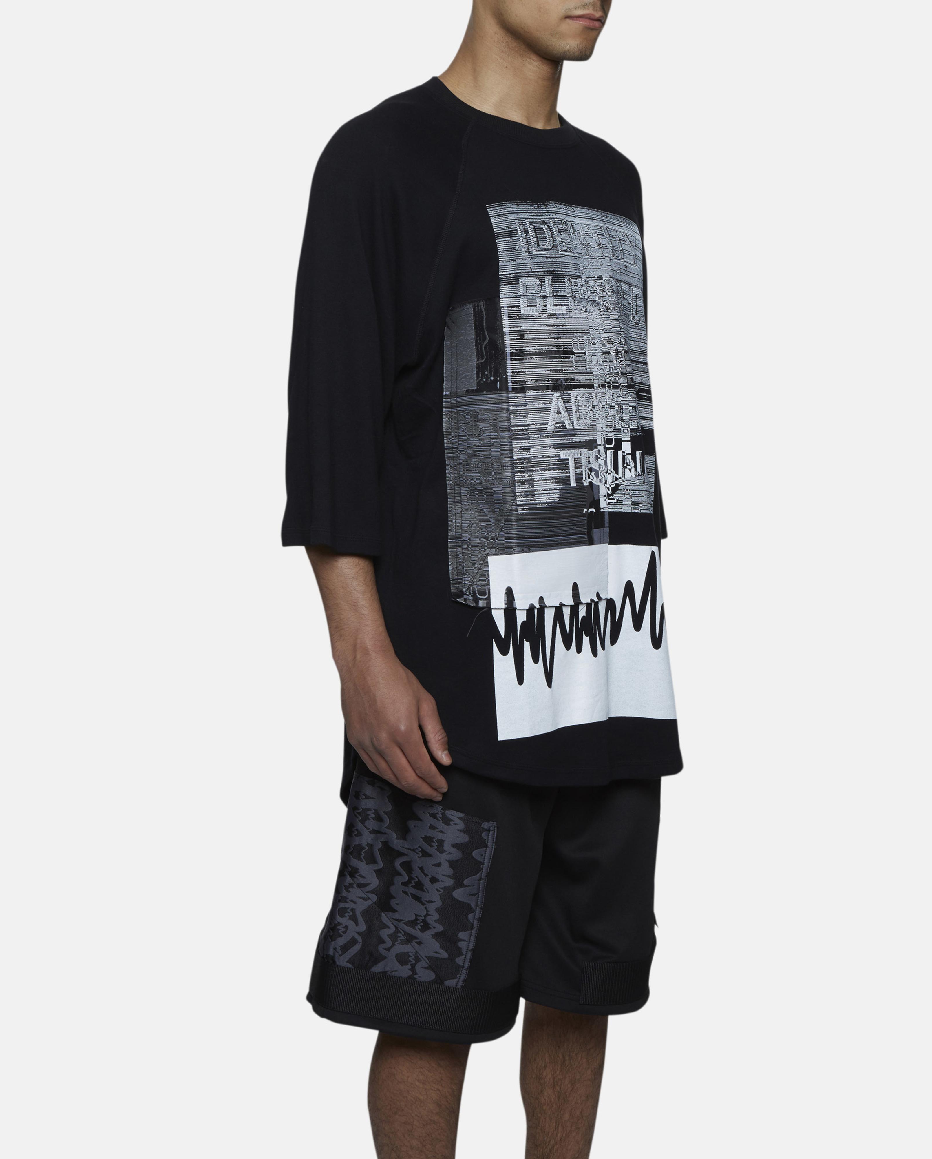 Liam Hodges Super Soft Applique T Shirt In Gray For Men Lyst