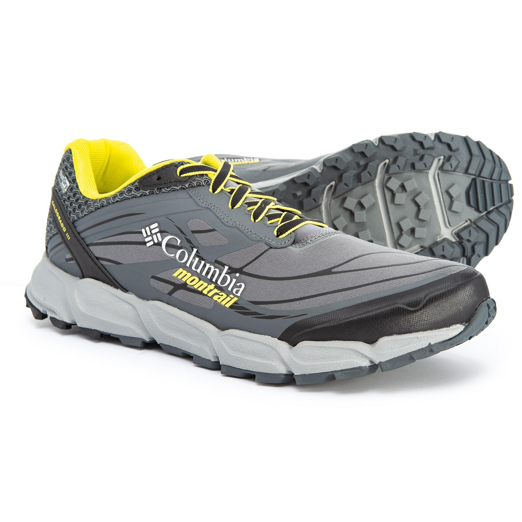 ac3c452c8cdbe Men's Gray Caldorado Iii Outdry® Trail Running Shoes