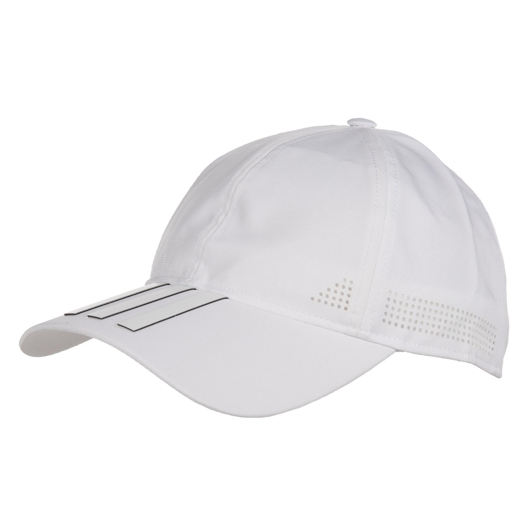 14a6e4cf18f480 adidas 6-panel 3-stripe Climate Control Baseball Cap in White - Lyst