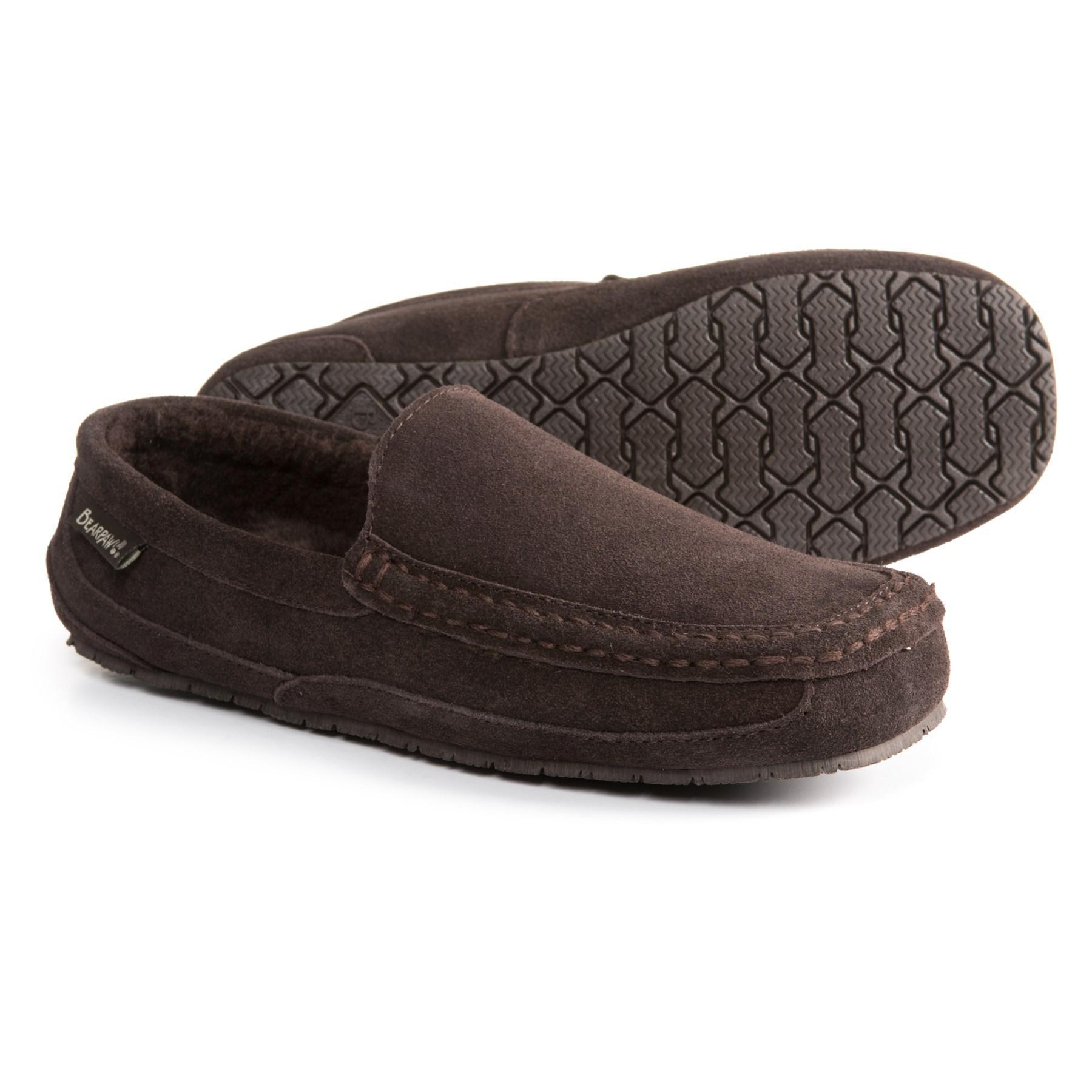 b8ed68434c7 Lyst - Bearpaw Peeta Slippers in Brown for Men
