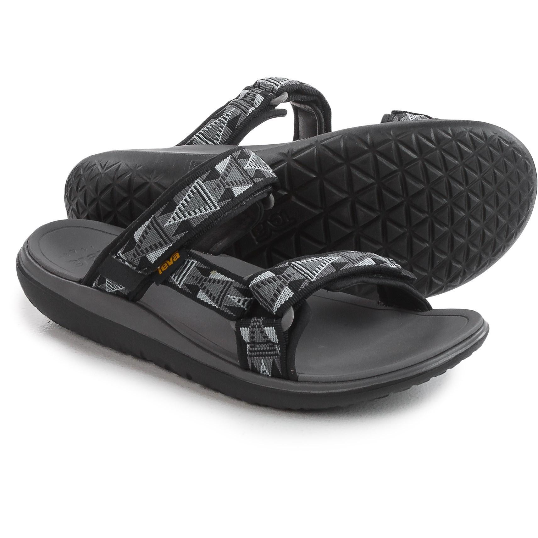 a1ff8ccaa50b Lyst - Teva Terra-float Slide Sandals (for Men) in Black for Men