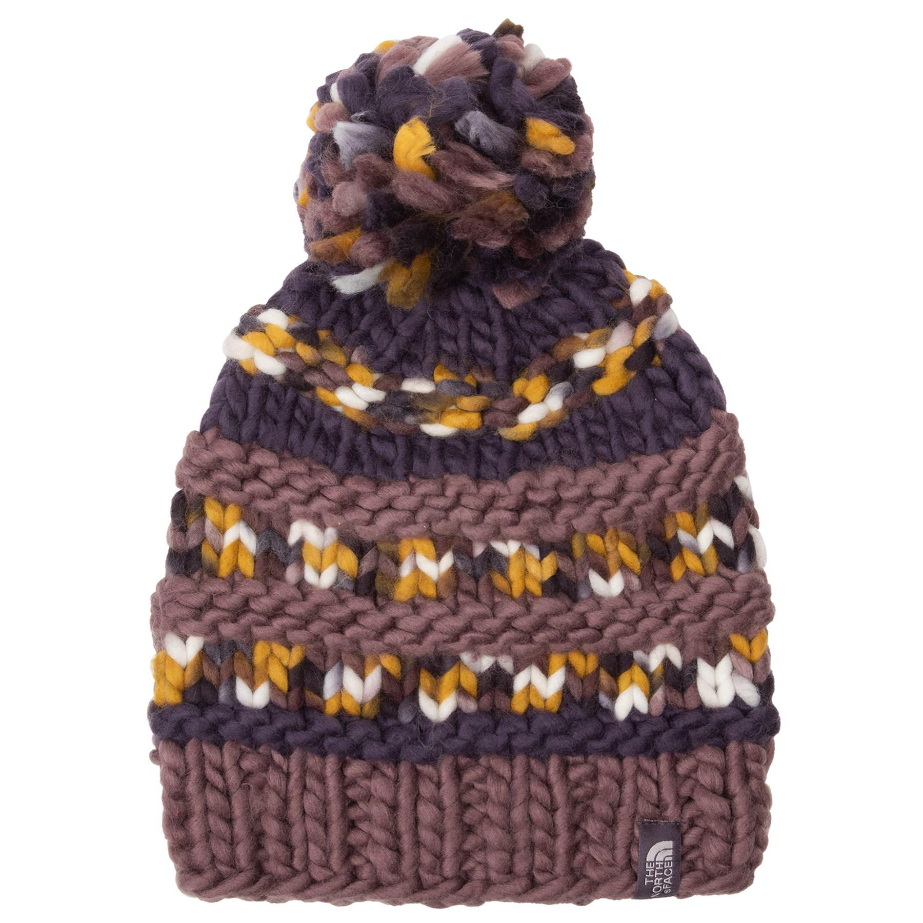 854b0c44422 Lyst - The North Face Nanny Knit Beanie (for Women) in Purple
