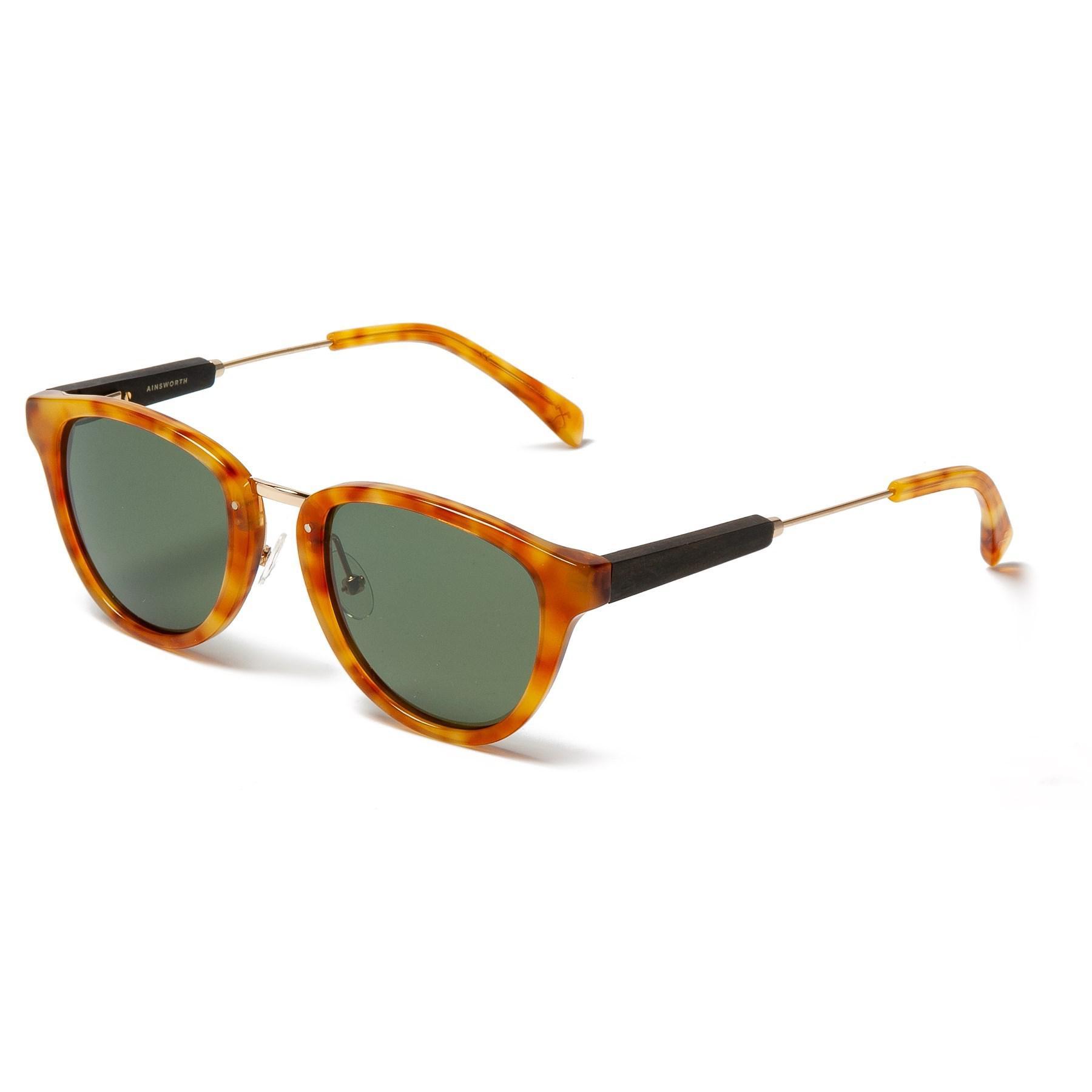 0dc052ec23a Lyst - Shwood Ainsworth Sunglasses in Metallic for Men