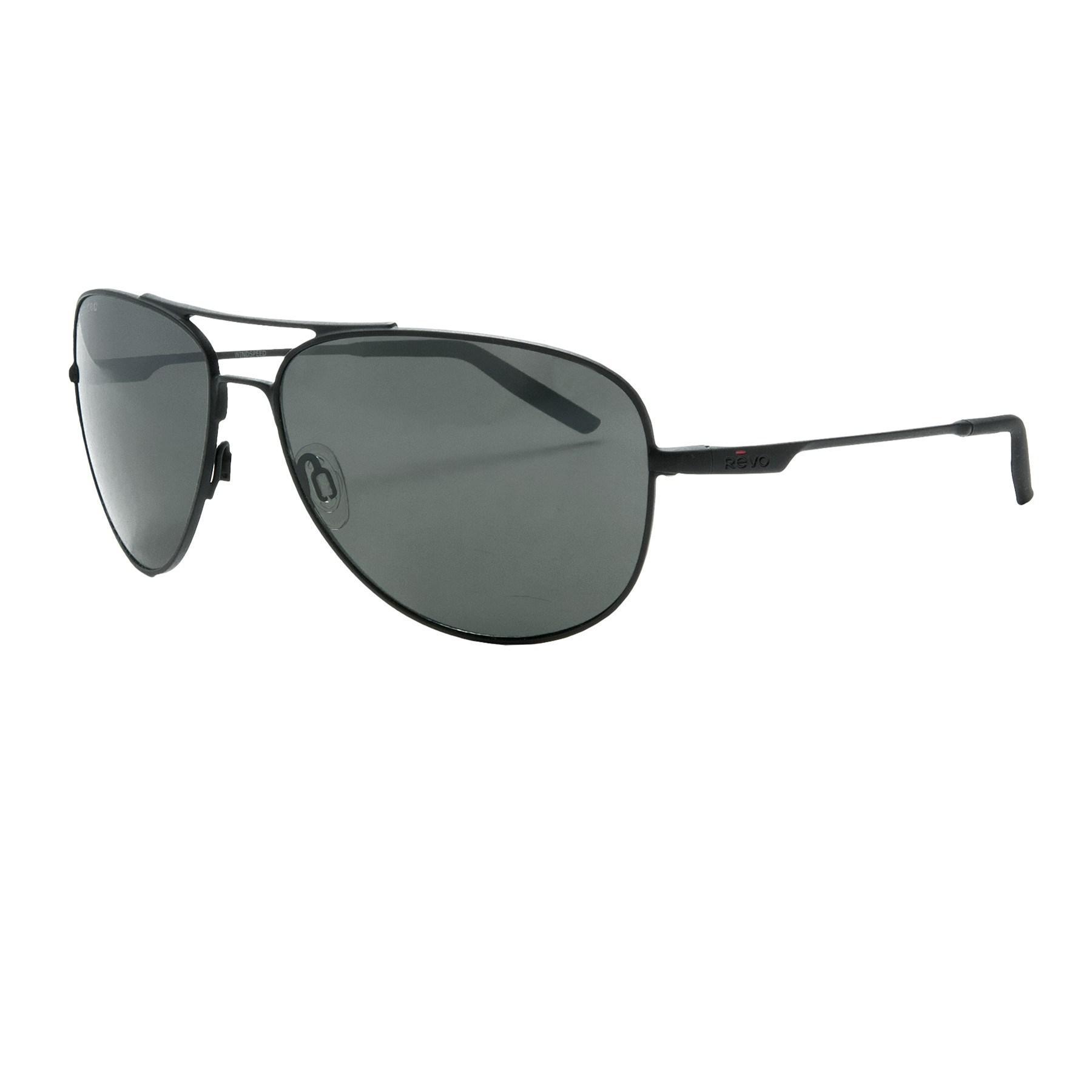 0b7d2f402d1 Lyst - Revo Windspeed Sunglasses in Black for Men