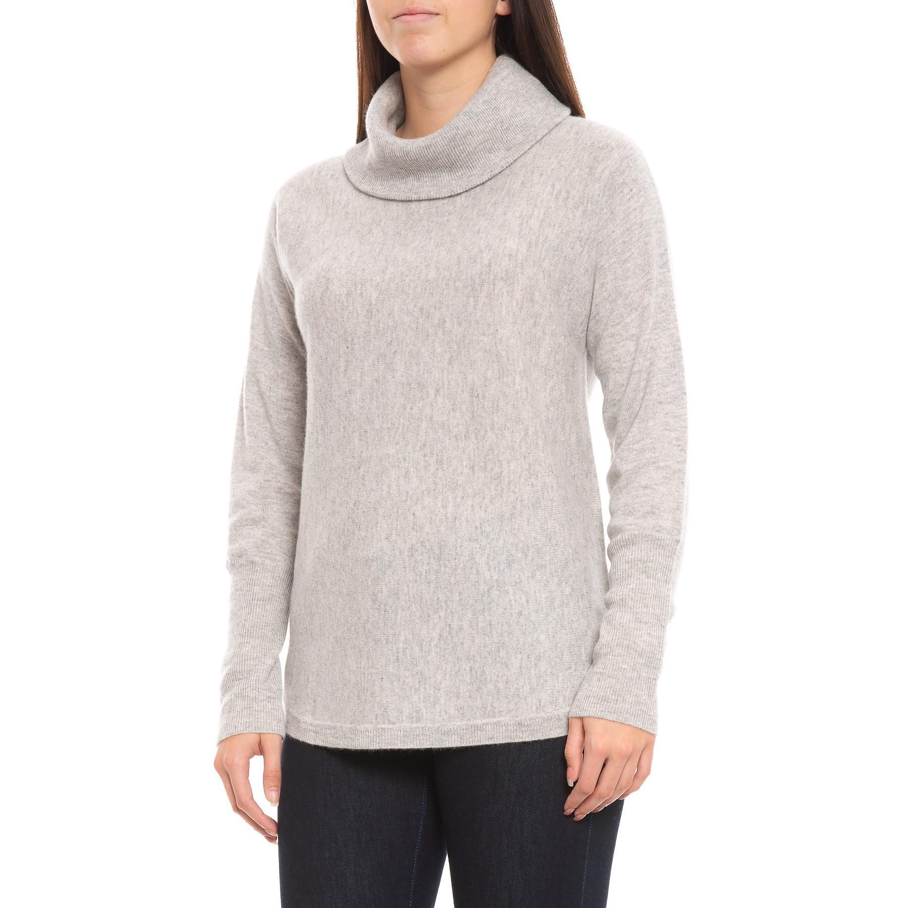 echte Schuhe attraktiver Stil online zu verkaufen Max Studio Cashmere Double-loose Pullover Tunic in Gray - Lyst