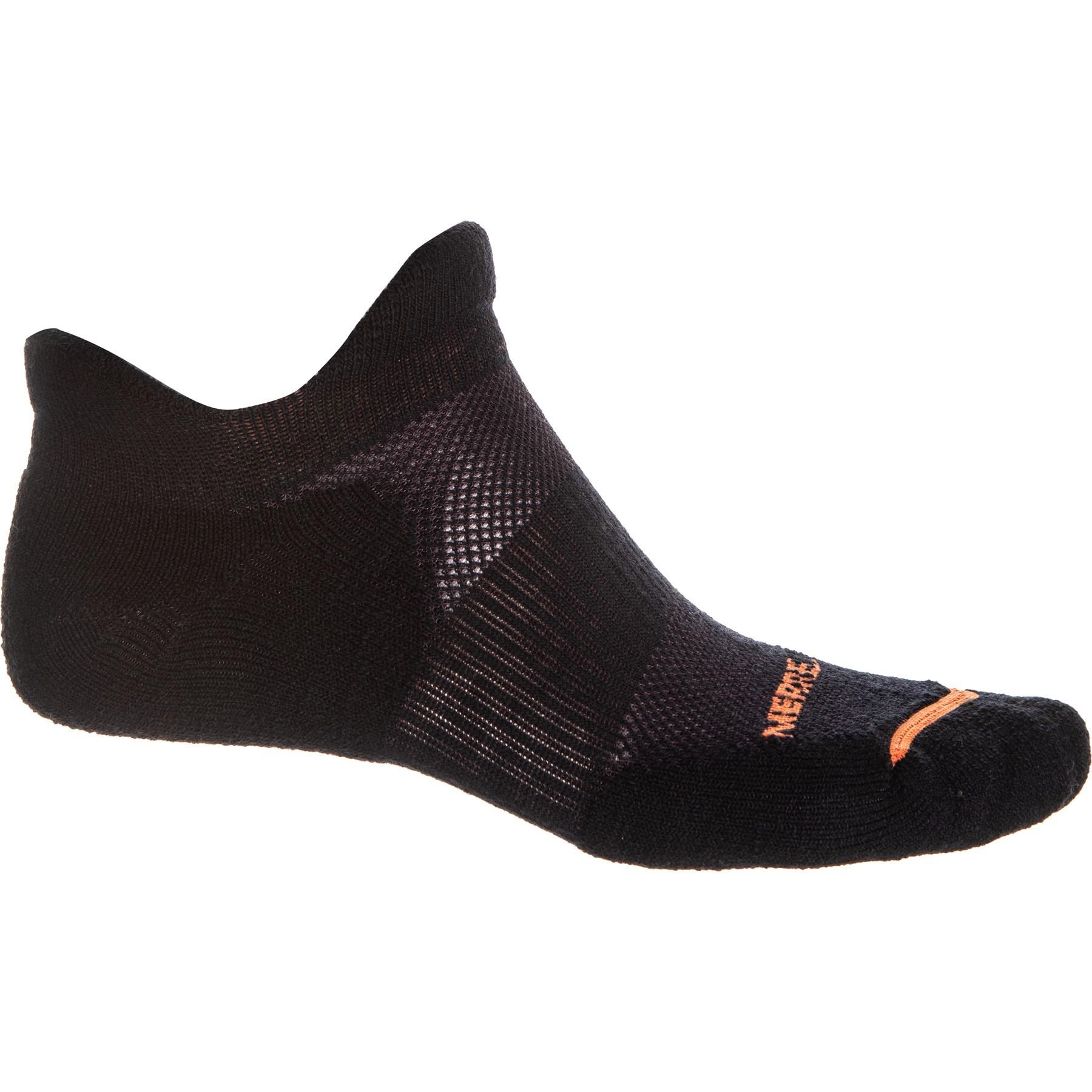 74fcf68e6f Lyst - Merrell Dual Tab Trail Runner Socks in Black for Men