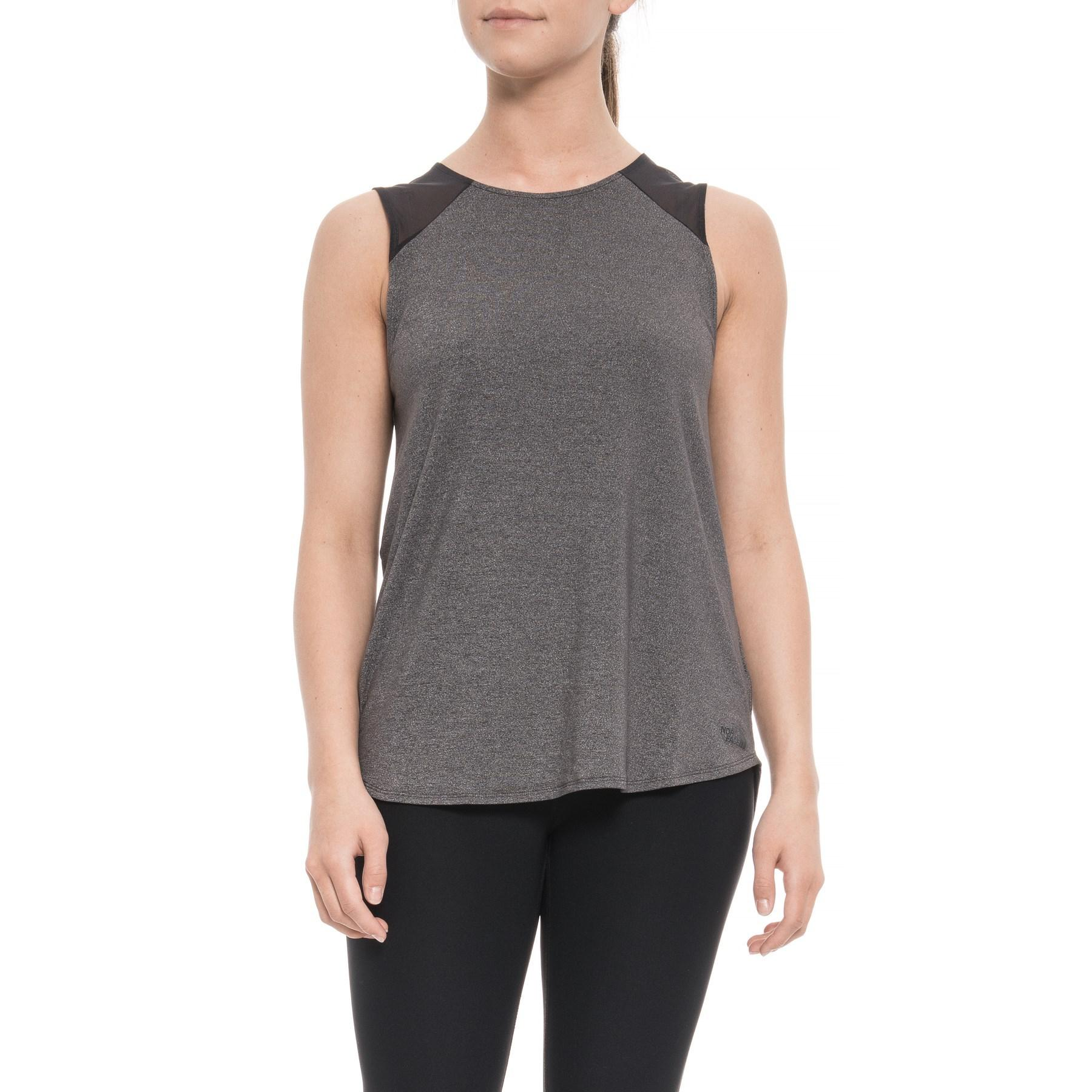 e3a1448063273 Lyst - The North Face Beyond Backless Tank Top (for Women) in Gray
