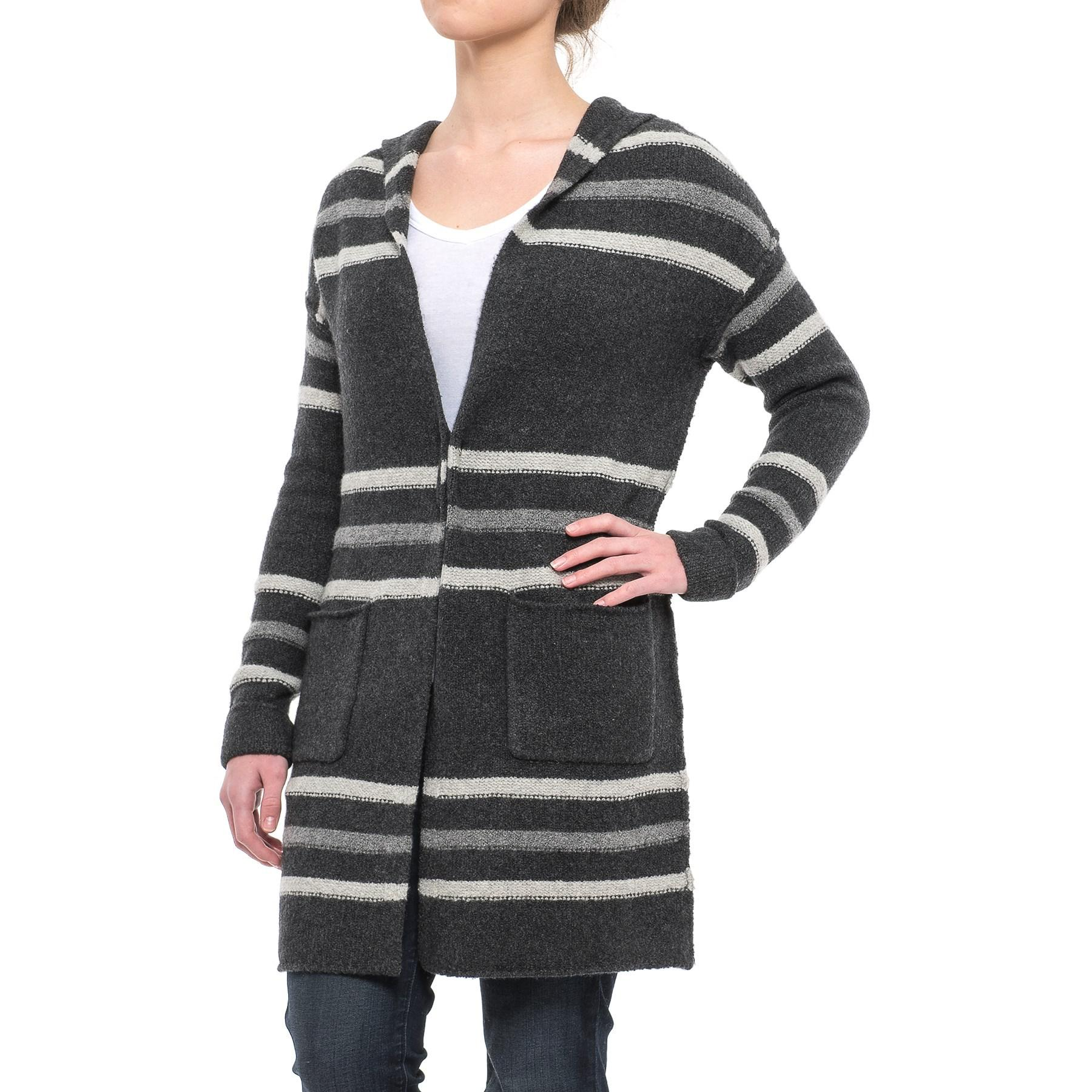 8d823deb73 Lyst - Tahari Recovery Yarn Tunic Cardigan Sweater in Gray - Save 62%