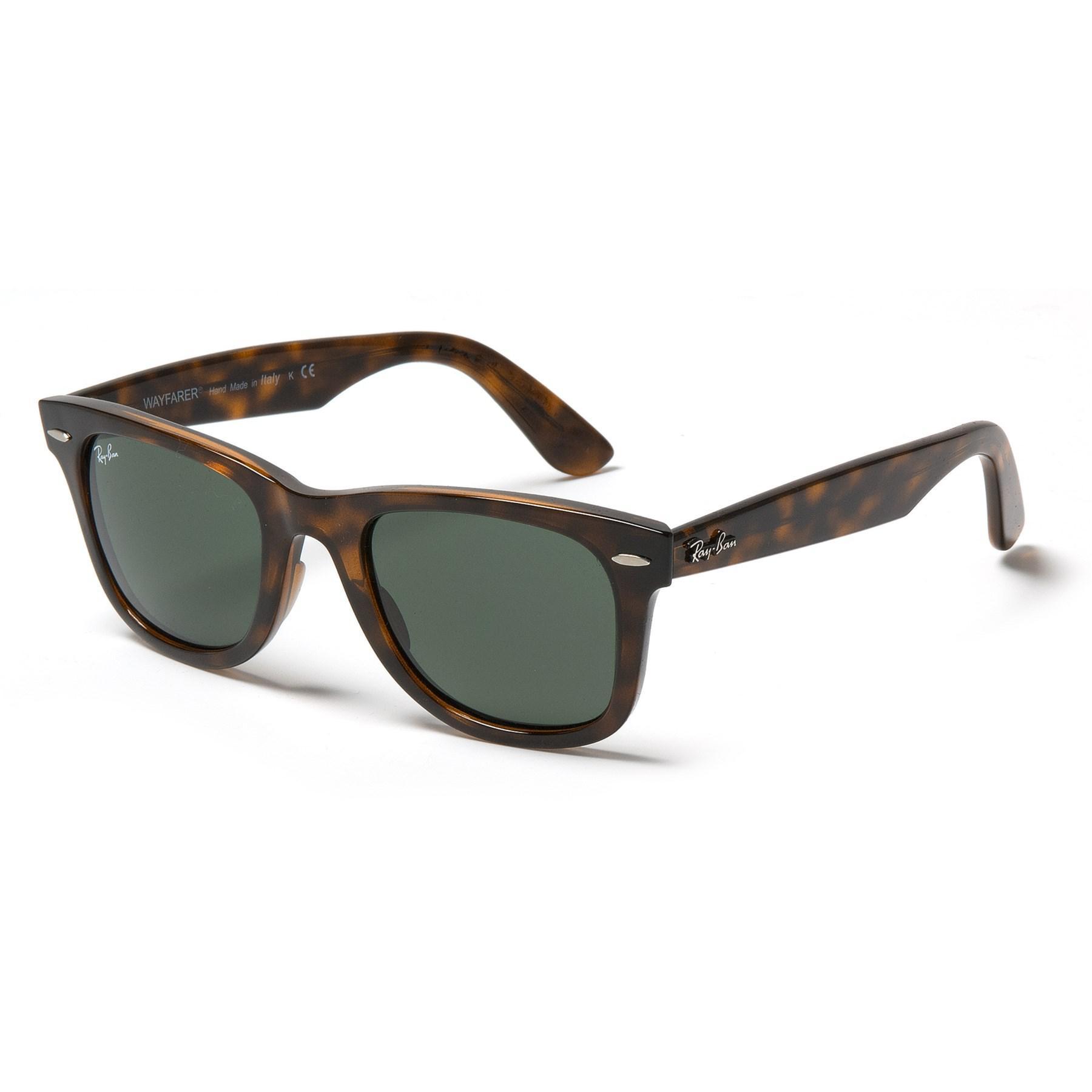 06158dc1e1 Lyst - Ray-Ban Rb4340 Wayfarer Ease Sunglasses in Green for Men