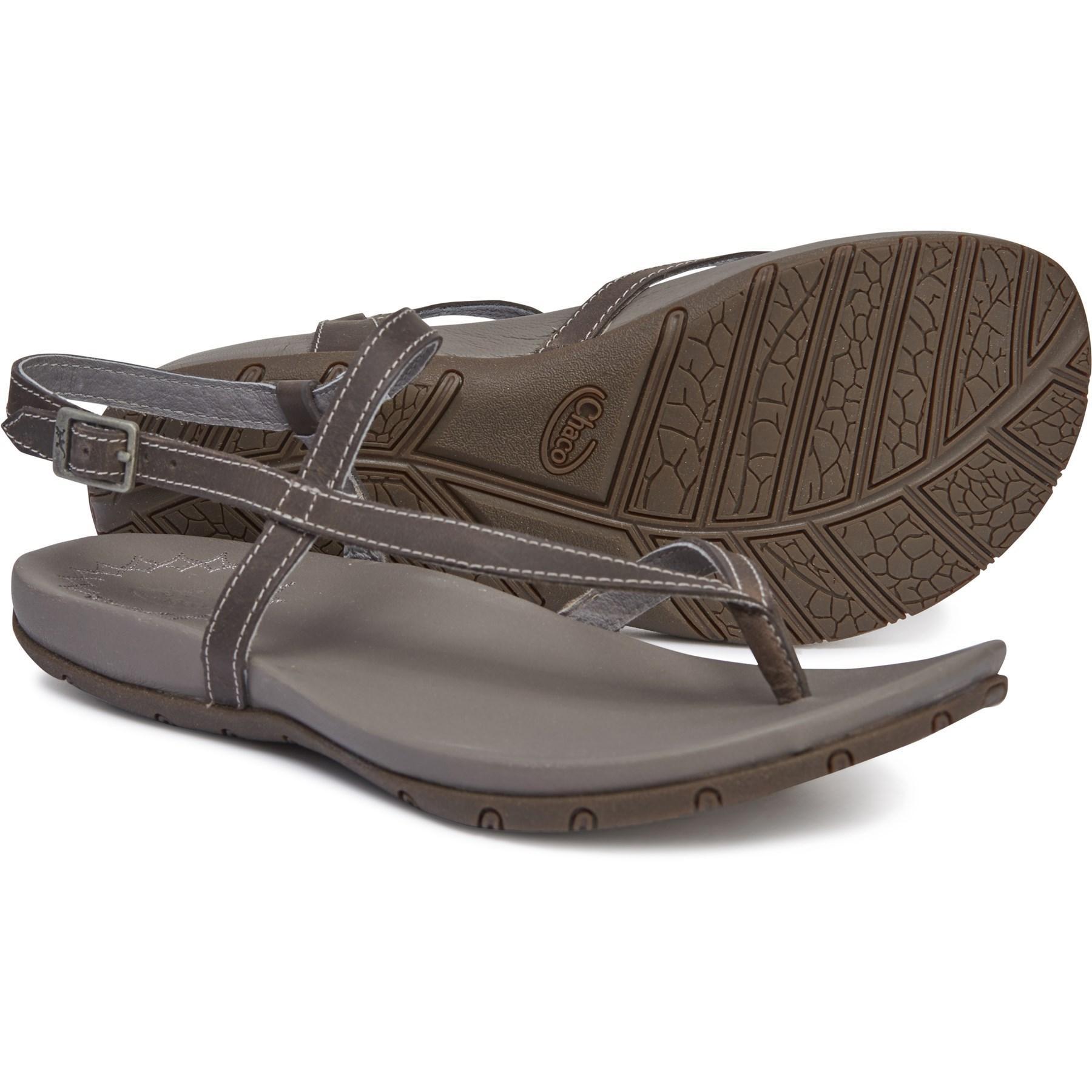 55c32f0a5f30 Lyst - Chaco Rowan Sandals in Gray