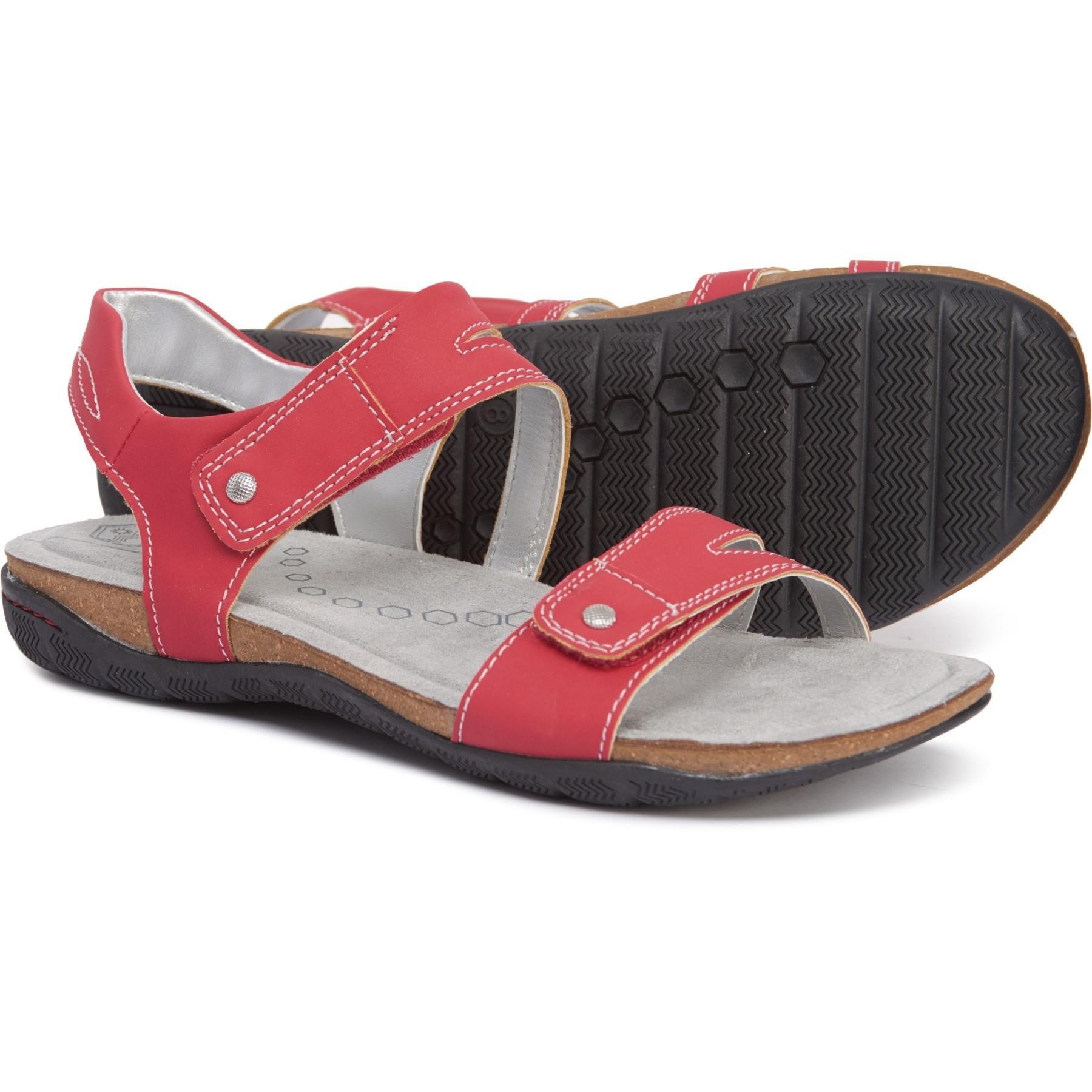 f63b5335a8 Lyst - Khombu Solace Sandals (for Women) in Red