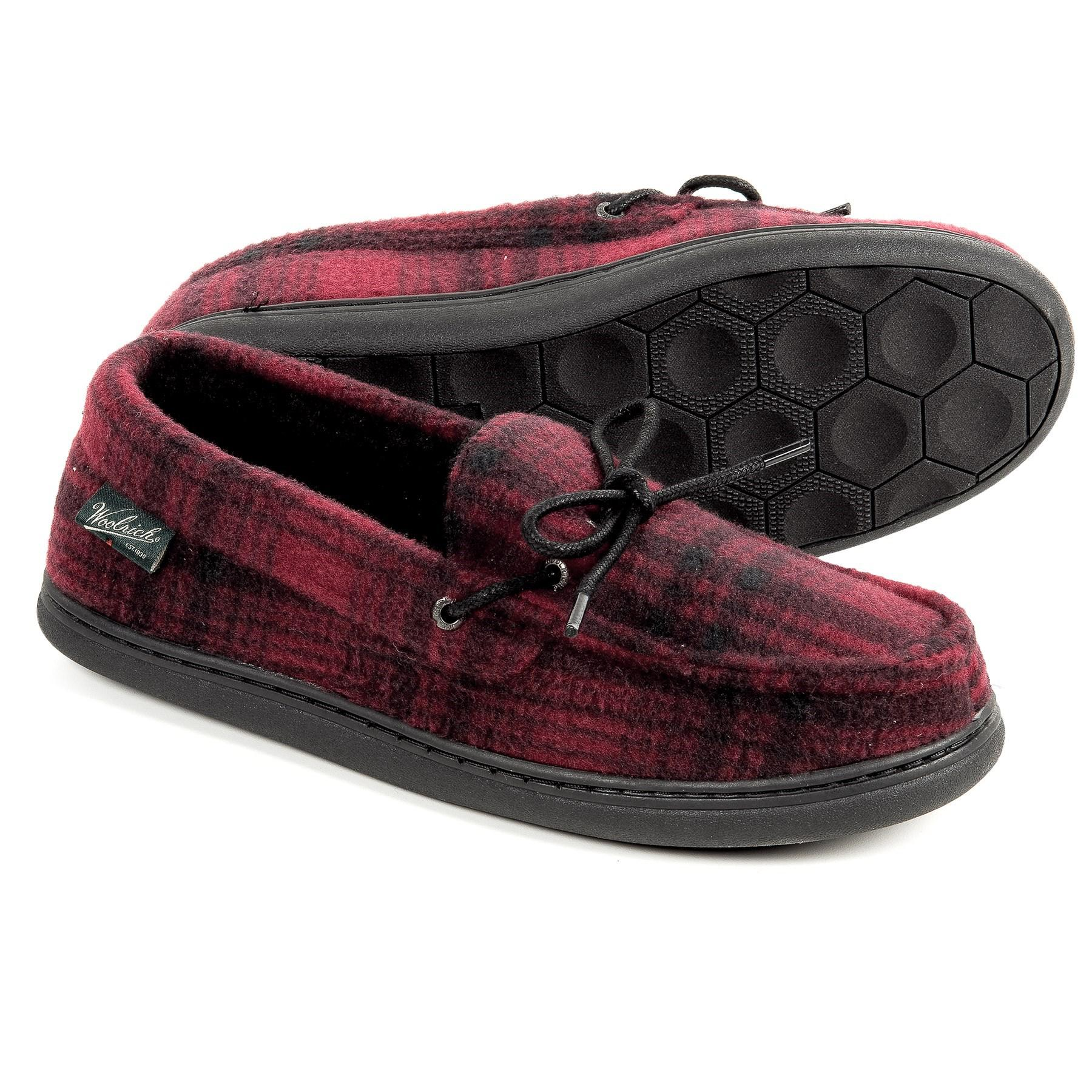 ad752f8766b Lyst - Woolrich Lewisburg Moccasins (for Men) in Red for Men
