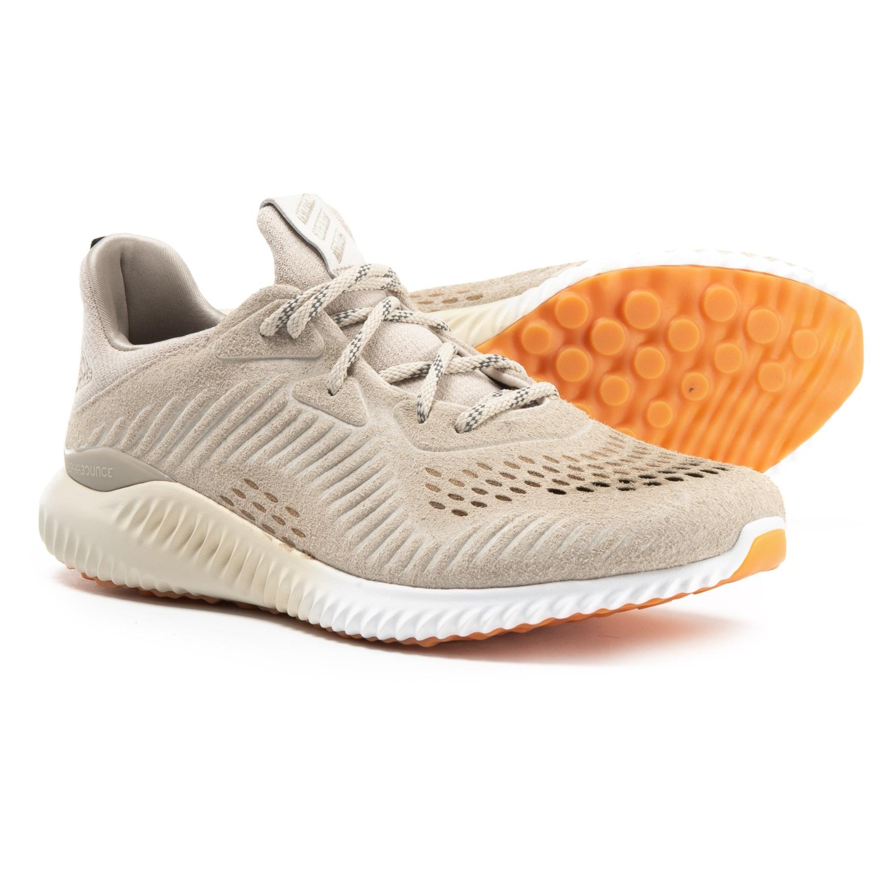 239d84cd4909b Lyst - adidas Alphabounce Leather Running Shoes (for Men) in Brown ...