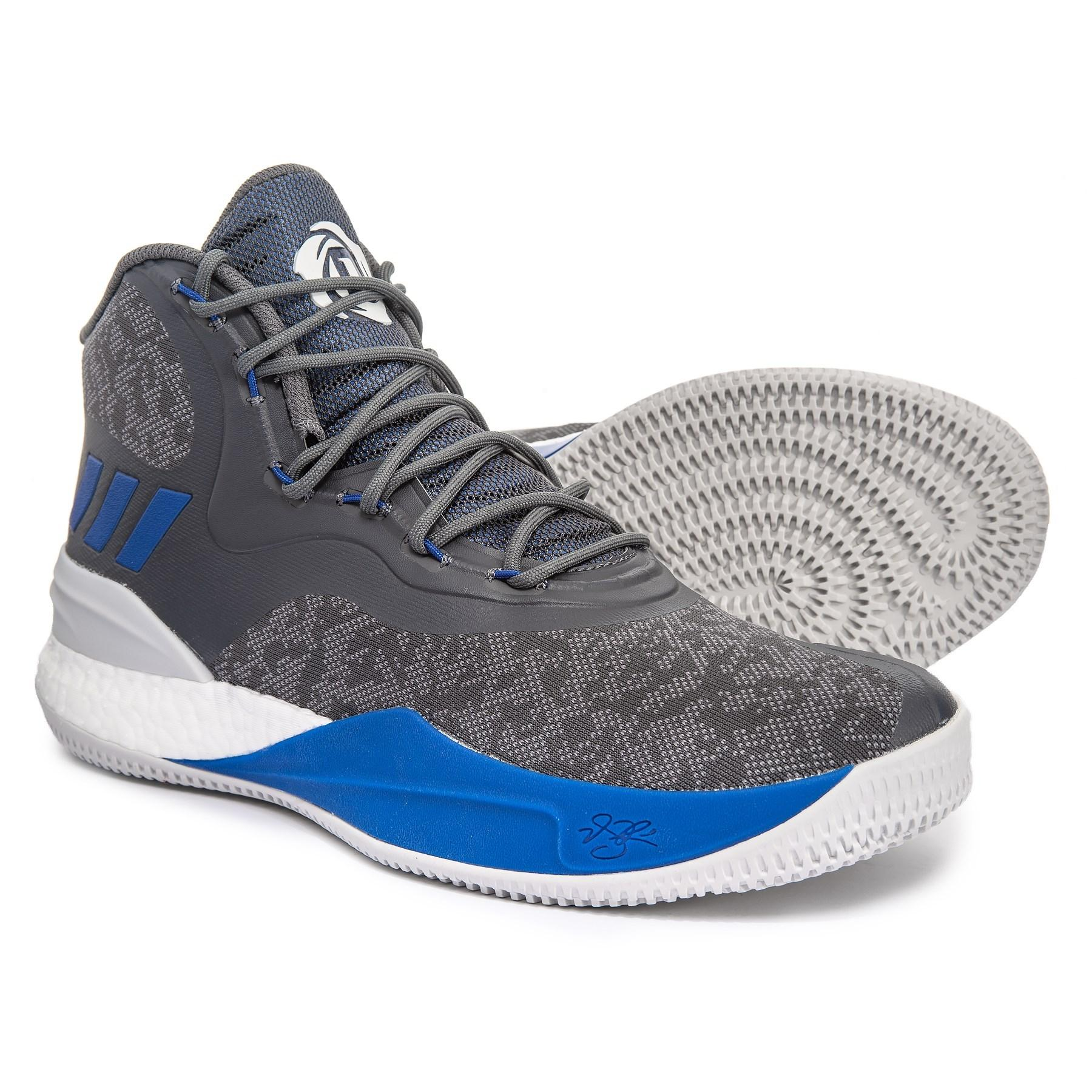 404ecabe5141 Lyst - adidas Derrick Rose 8 Basketball Shoes (for Men) in Gray for Men