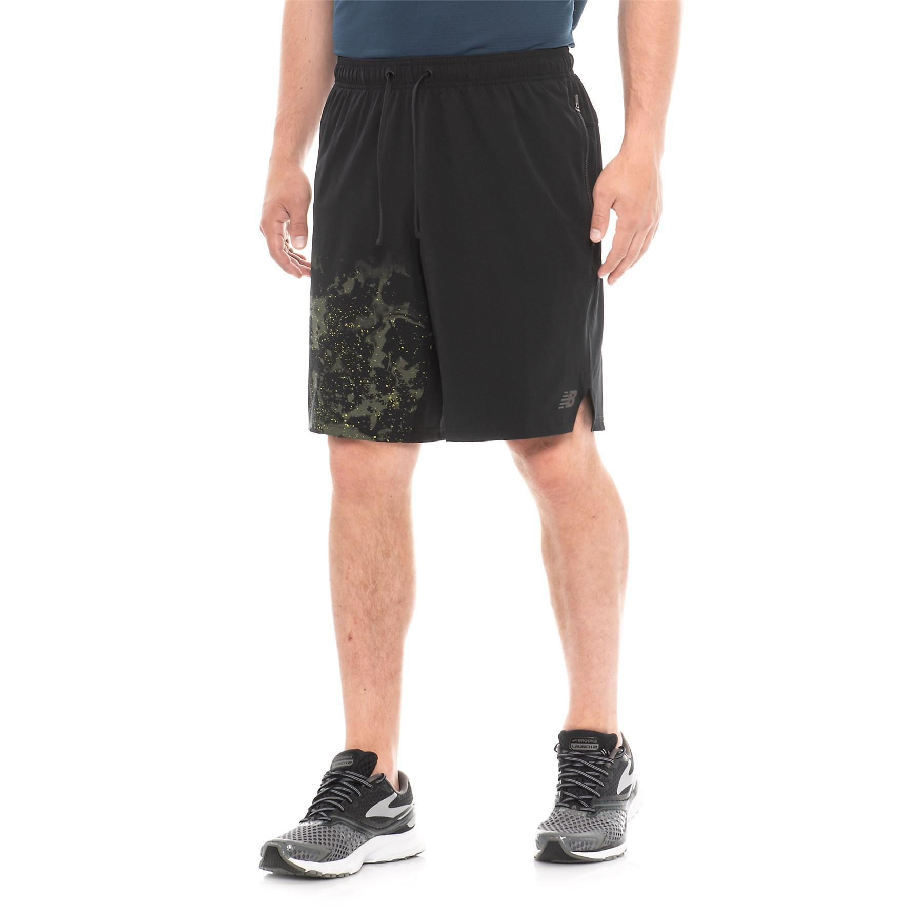 1be085459 Lyst - New Balance Max Intensity Running Shorts (for Men) in Black ...