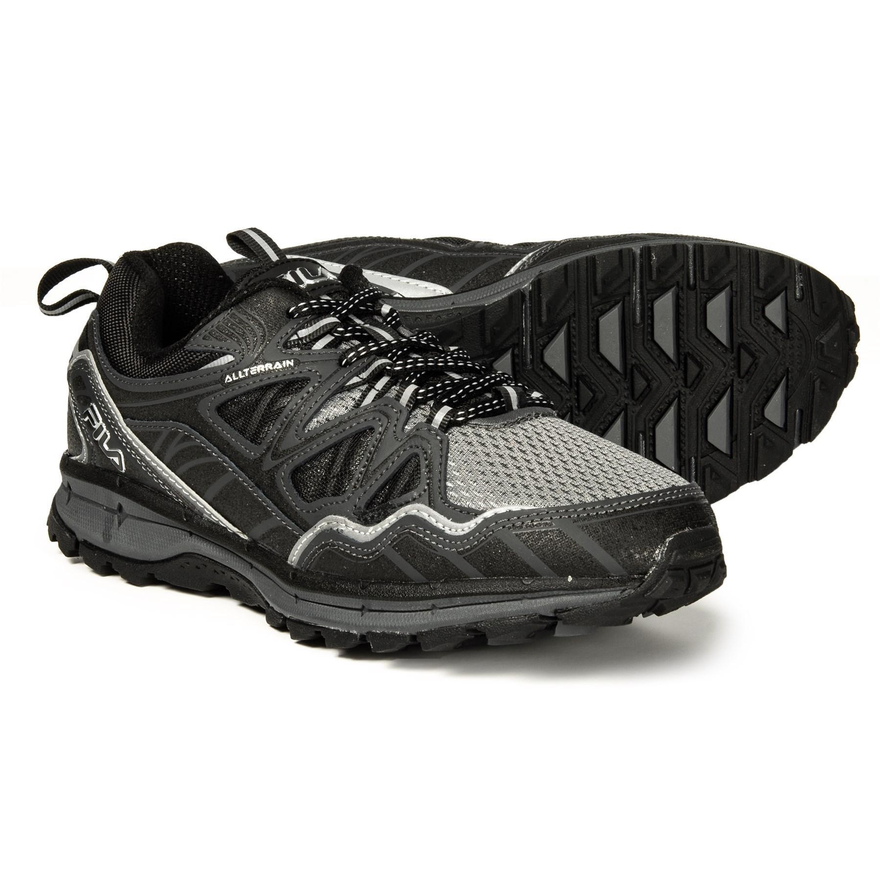 75cafa67e913 Lyst - Fila Memory Tko Tr 5.0 Trail Running Shoe (for Men) in Black ...