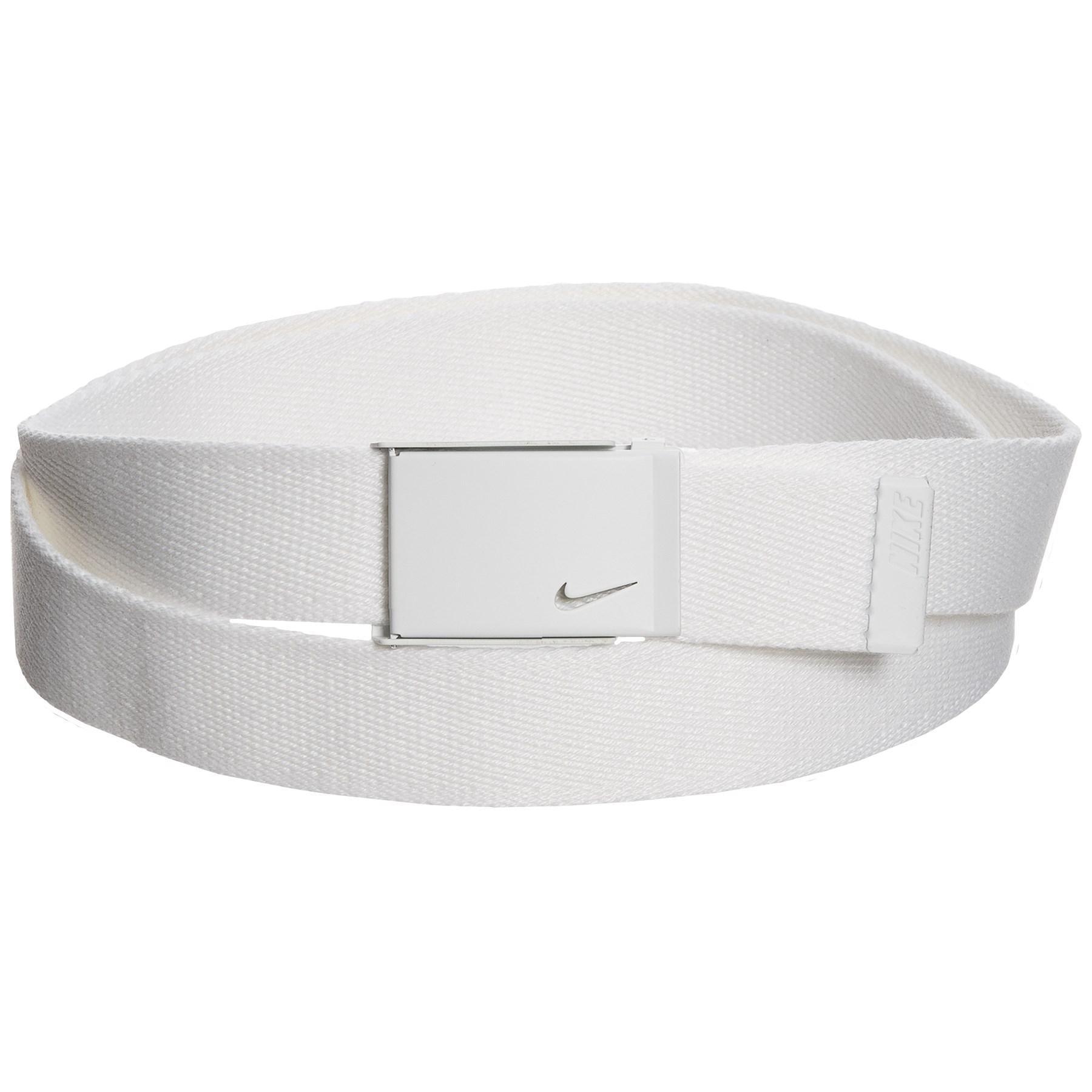 10a8a2e5ea Nike Tech Essential Single Web Belt (for Women) in White - Lyst