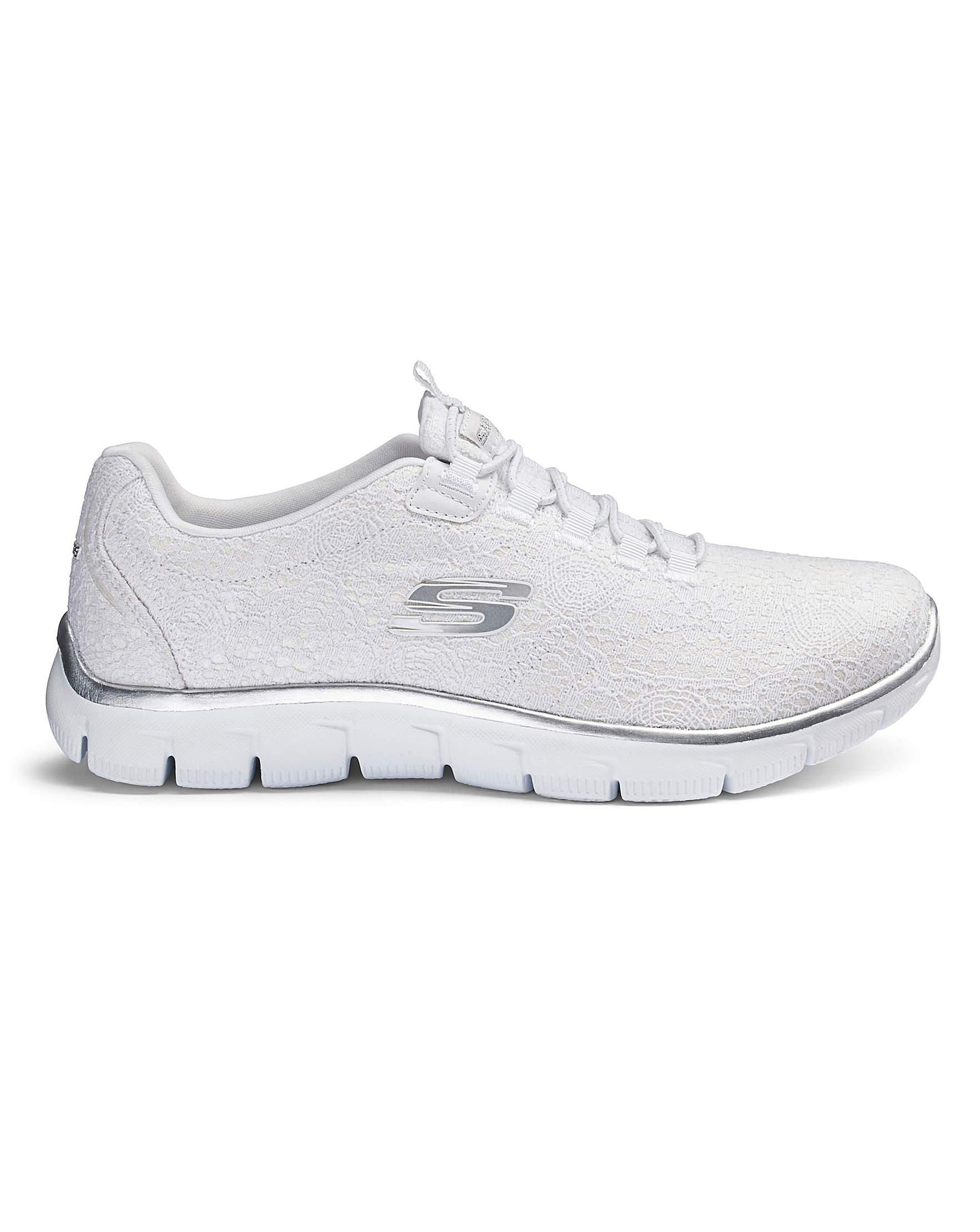 7b55e65dfd89 Skechers Empire Spring Glow Trainers in White for Men - Lyst