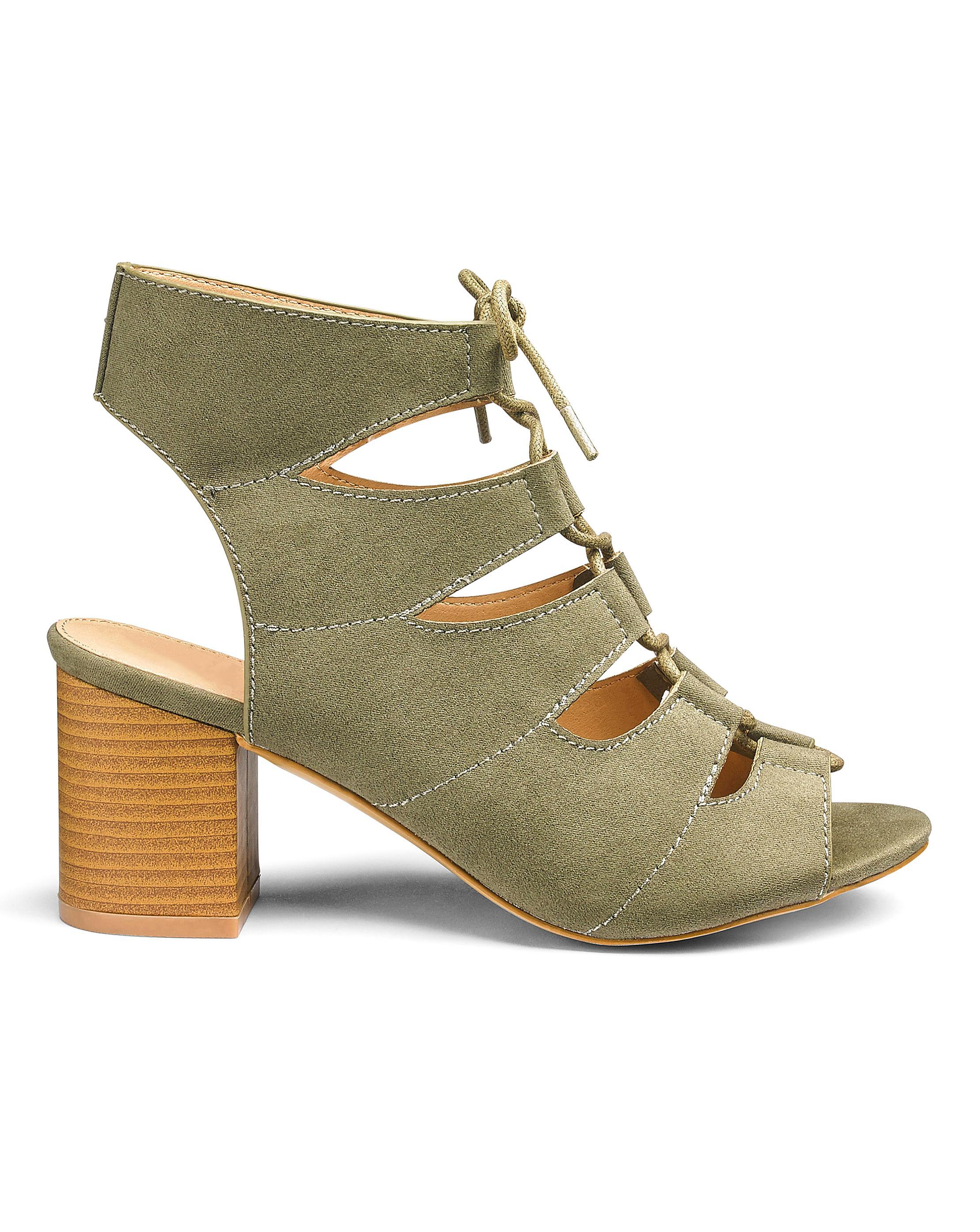 Mabel Tie Sandals Wide cheap sale very cheap fashionable for sale fashionable online outlet popular cSj1Dtn