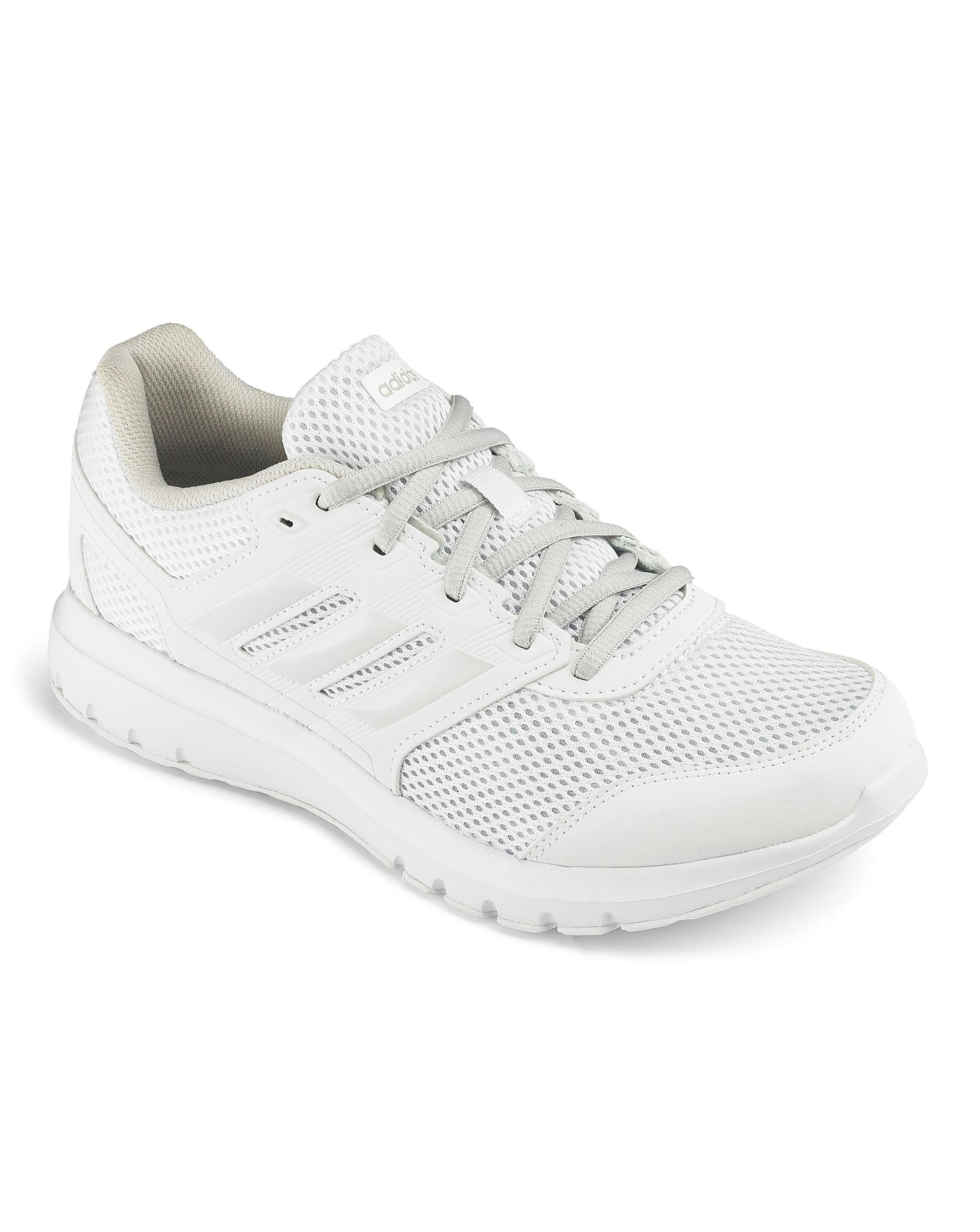 hot sales d1f91 35082 Lyst - Simply Be Adidas Duramo Lite 2 0 Sneakers in White