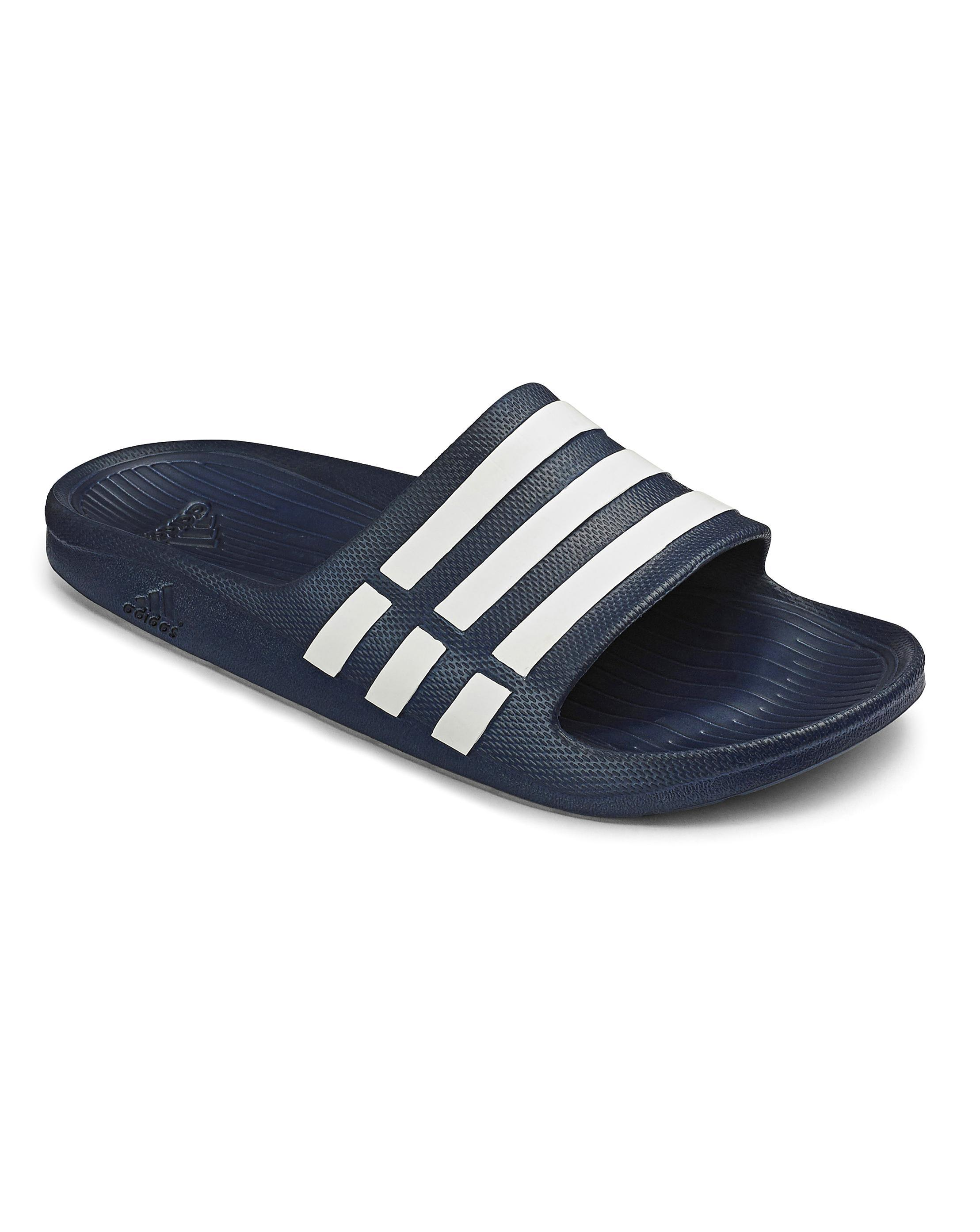 2495c8c4d2cc Lyst - Simply Be Adidas Duramo Slider in Blue for Men