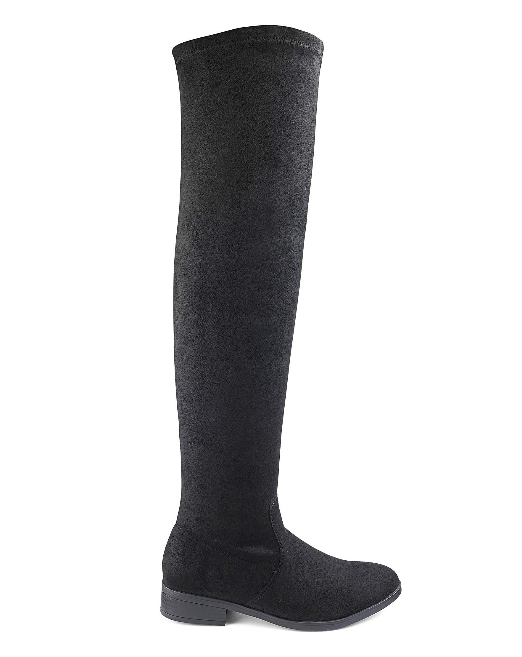 Curvy Wide Simply Fit Lyst Boots Be Black In Sienna Extra Super UIUHFgqx